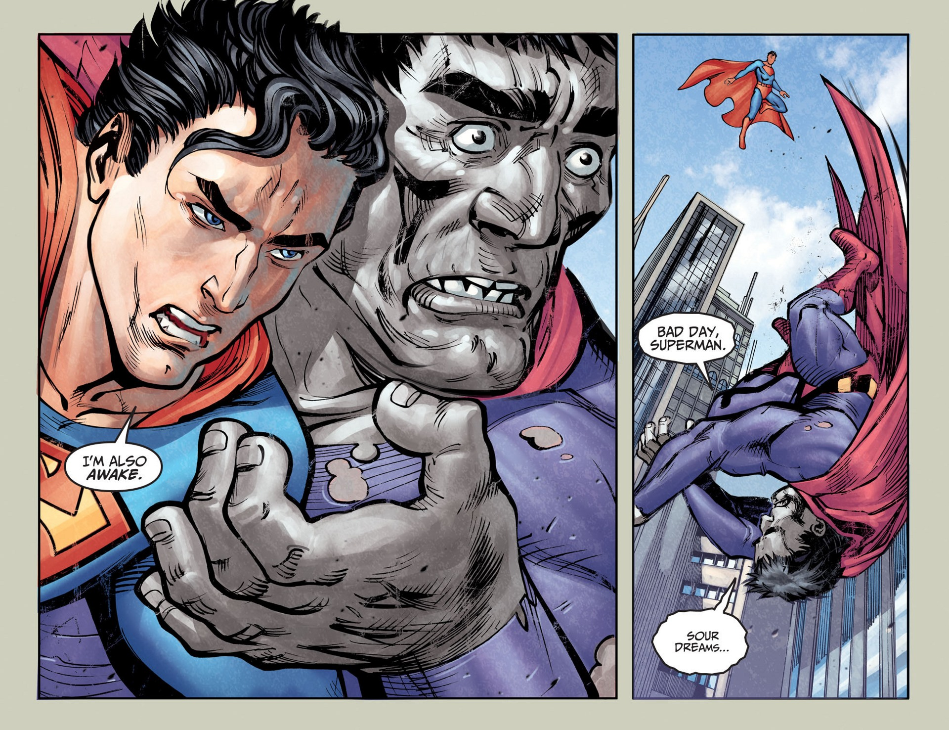 Read online Adventures of Superman [I] comic -  Issue #25 - 8
