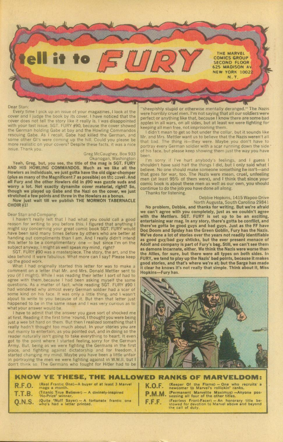 Read online Sgt. Fury comic -  Issue #94 - 33