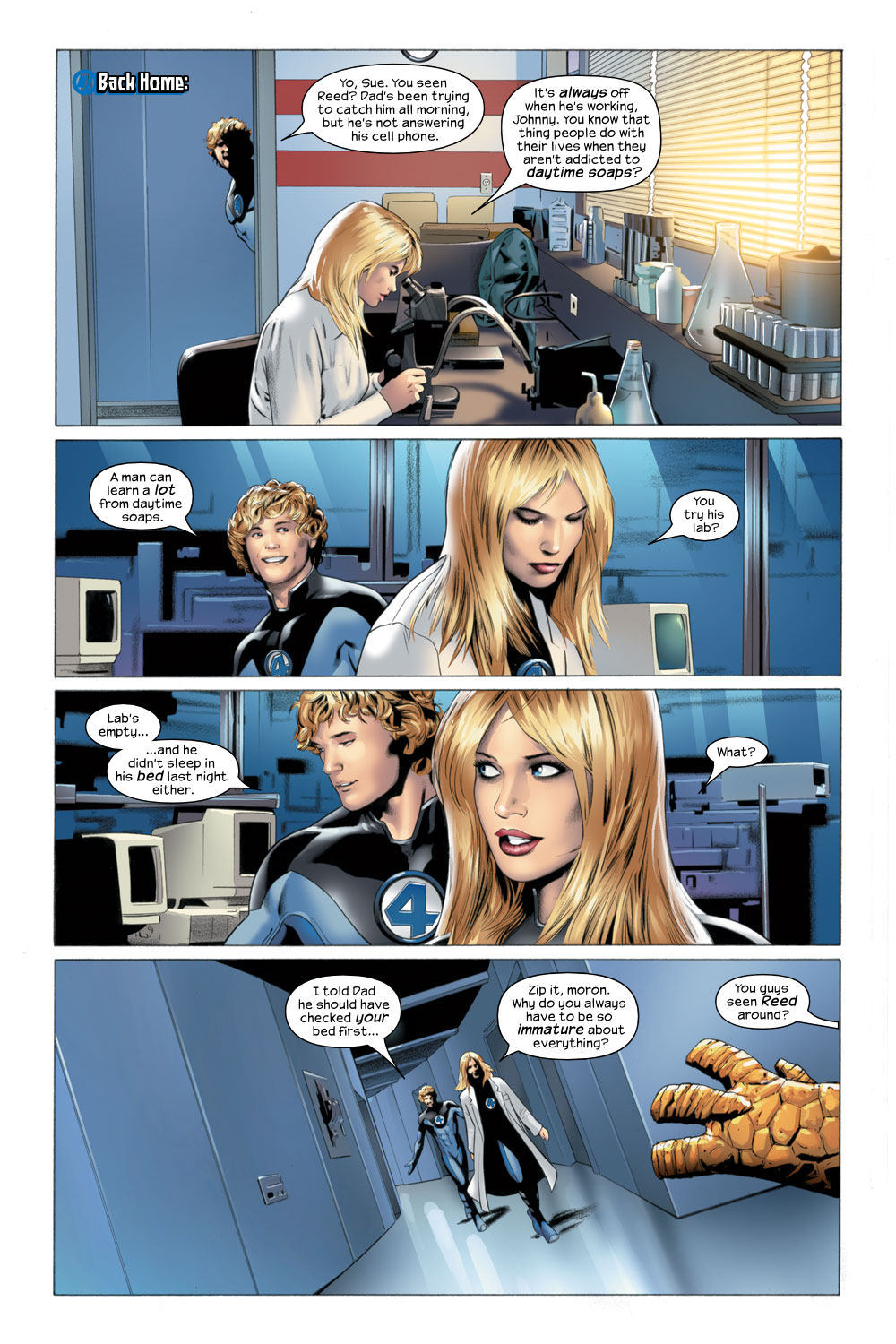 Read online Ultimate Fantastic Four (2004) comic -  Issue #22 - 16