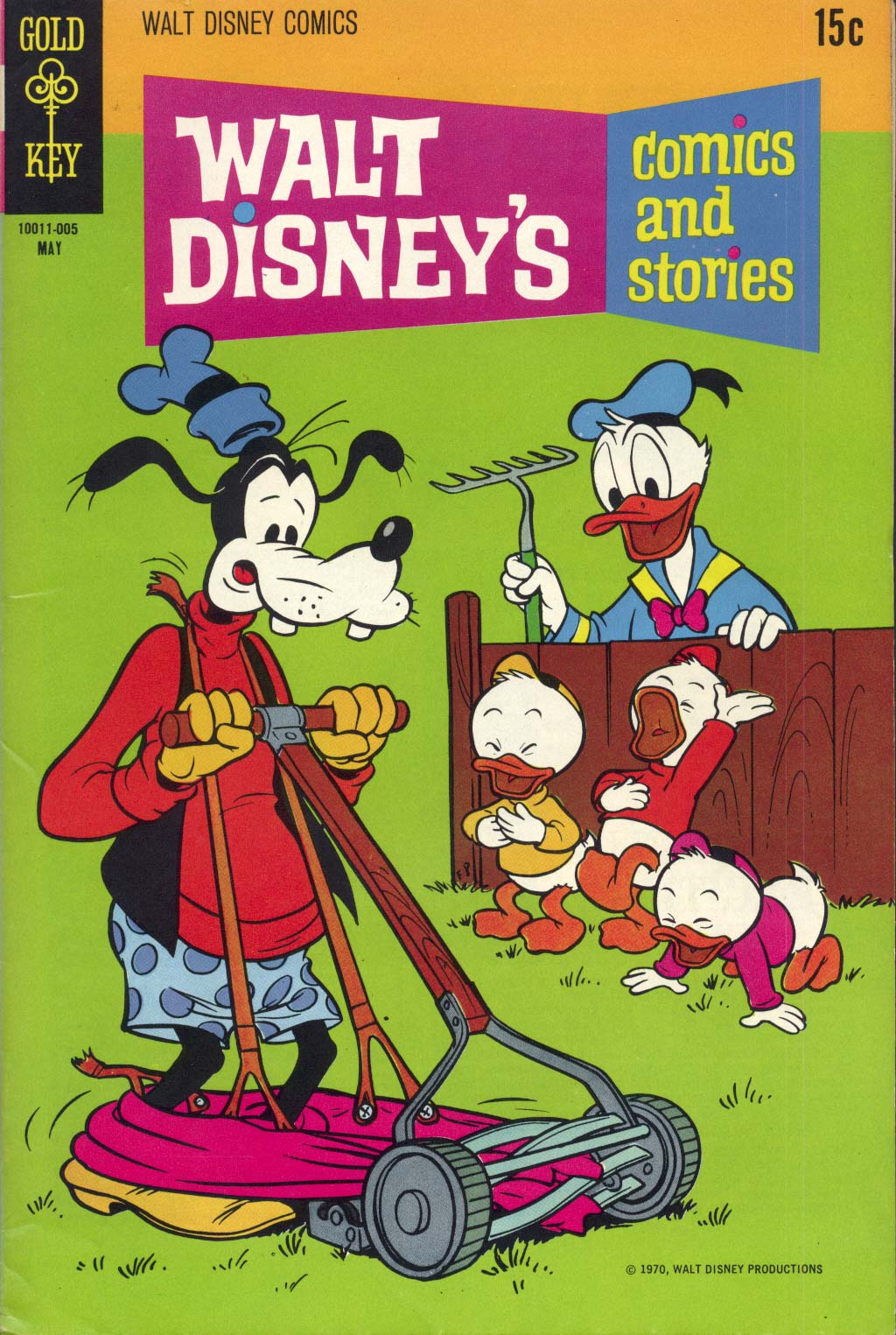 Walt Disney's Comics and Stories issue 356 - Page 1