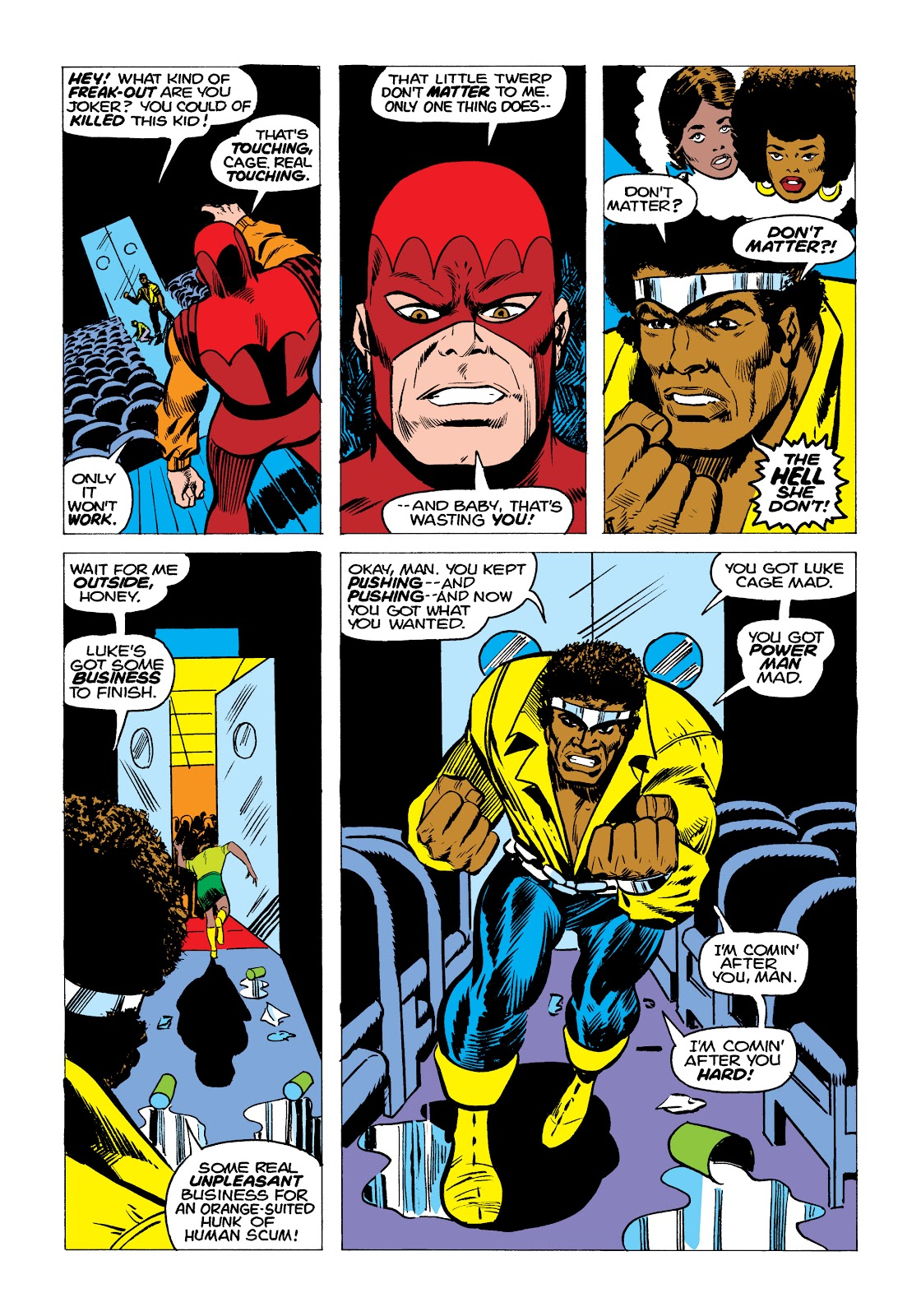Read online Marvel Masterworks: Luke Cage, Power Man comic -  Issue # TPB 2 (Part 1) - 99