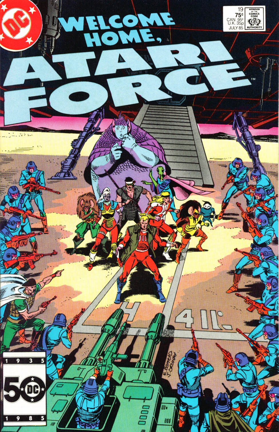 Read online Atari Force (1984) comic -  Issue #19 - 2