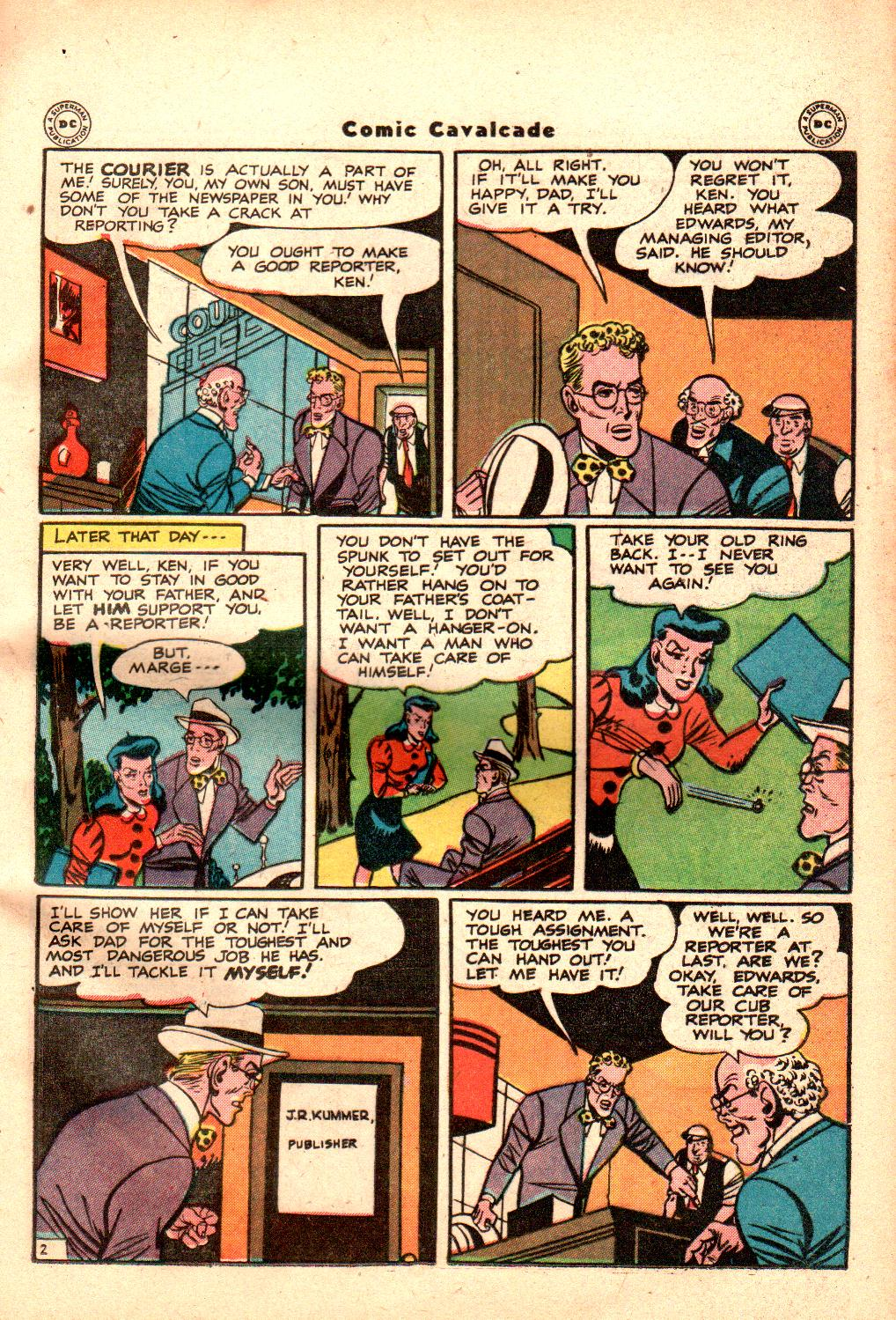 Comic Cavalcade issue 21 - Page 31