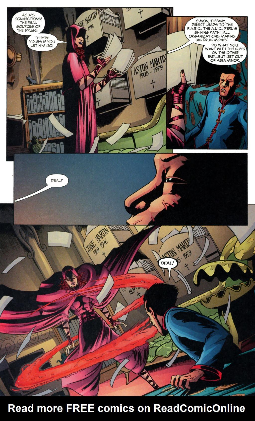 Read online Fallen Angel (2003) comic -  Issue #13 - 22
