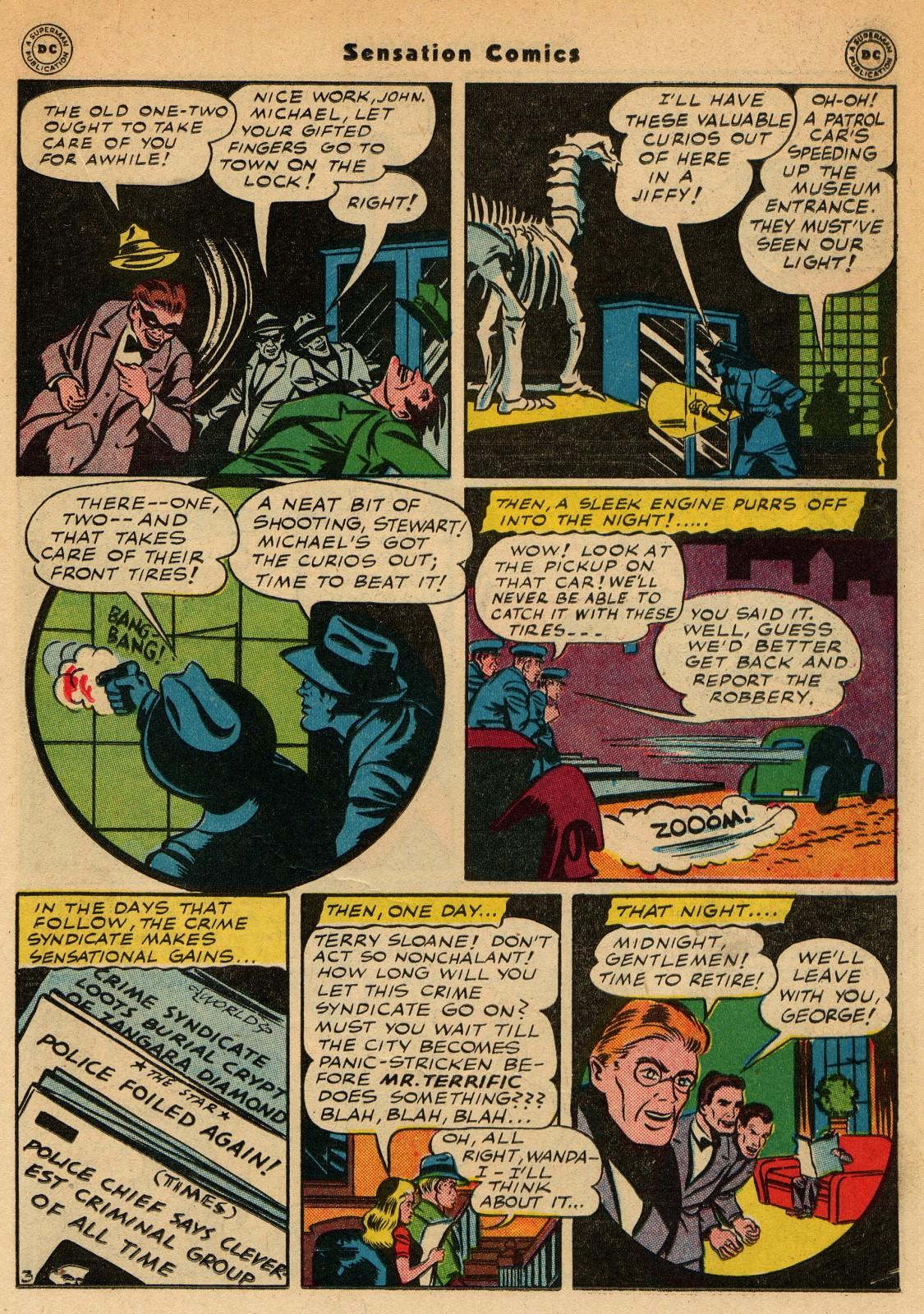 Read online Sensation (Mystery) Comics comic -  Issue #51 - 27
