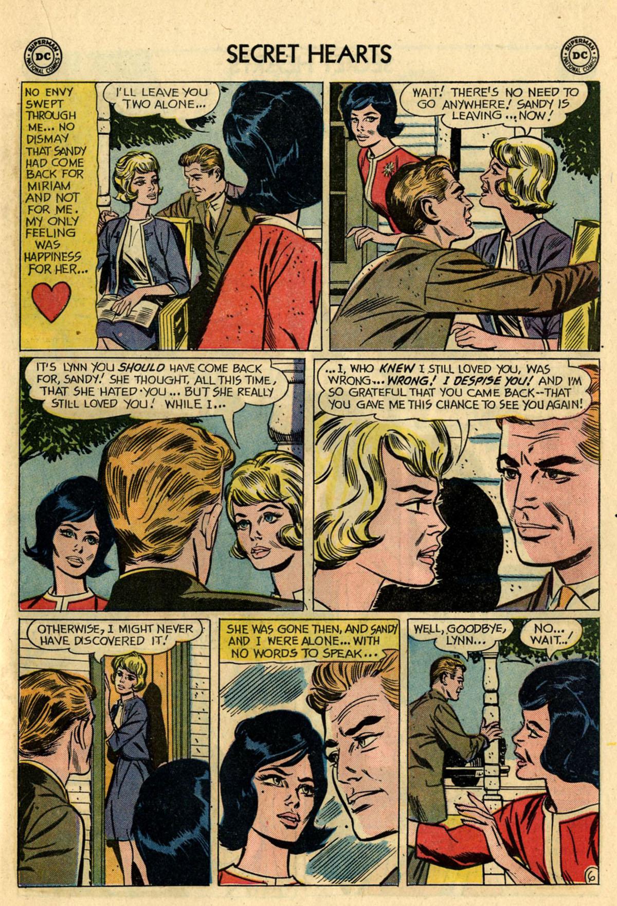 Read online Secret Hearts comic -  Issue #83 - 23