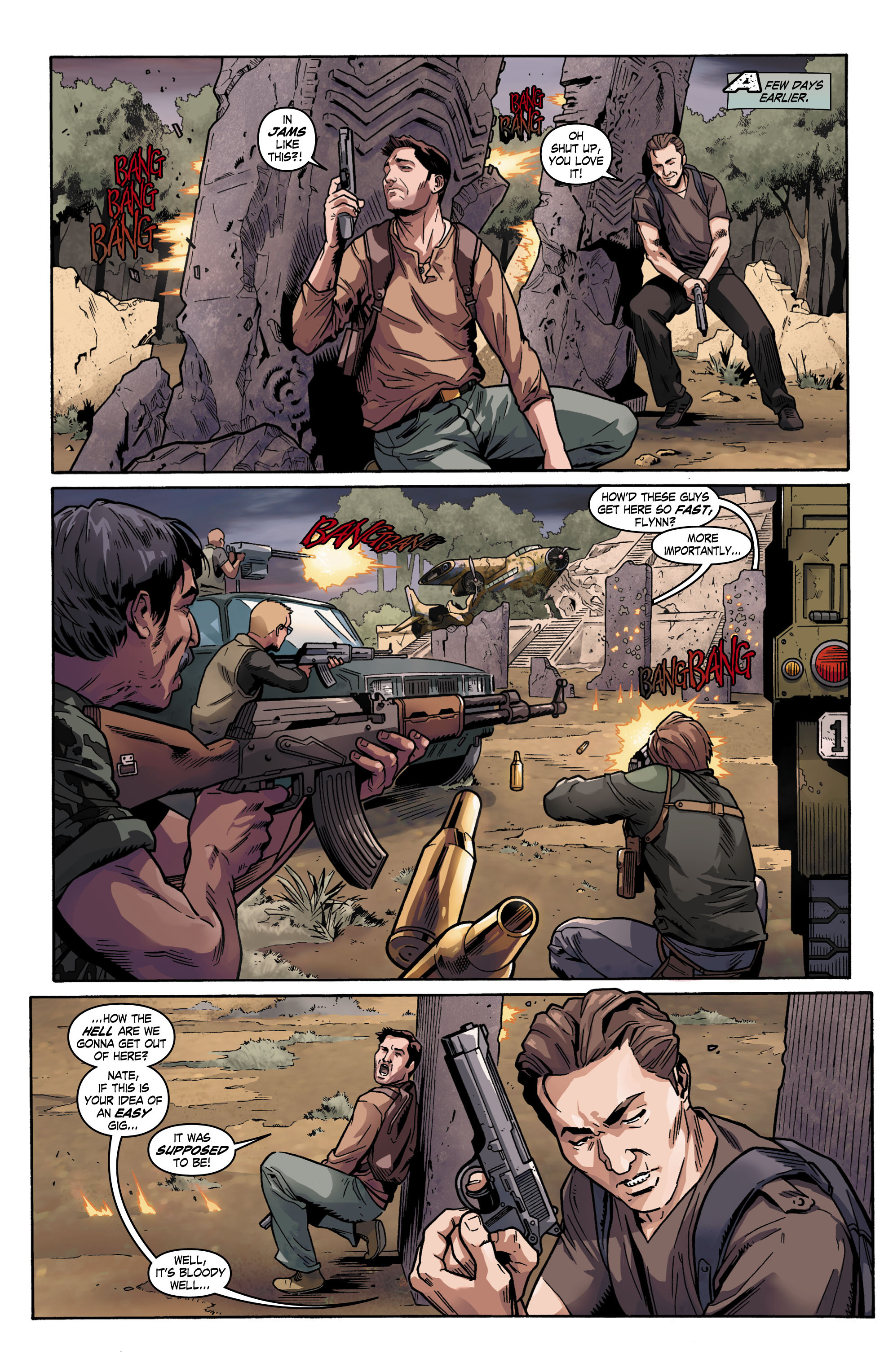 Read online Uncharted comic -  Issue #1 - 4