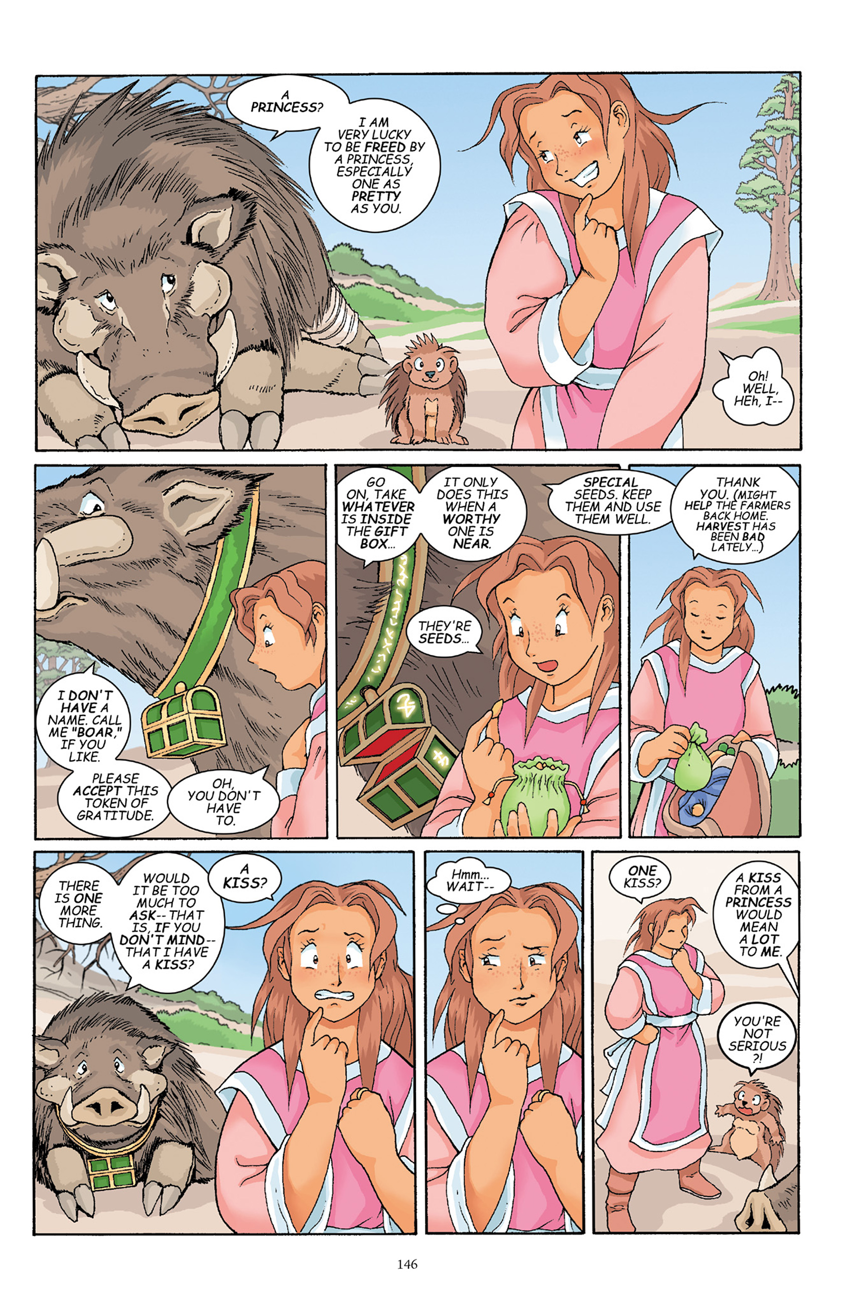 Read online Courageous Princess comic -  Issue # TPB 1 - 145