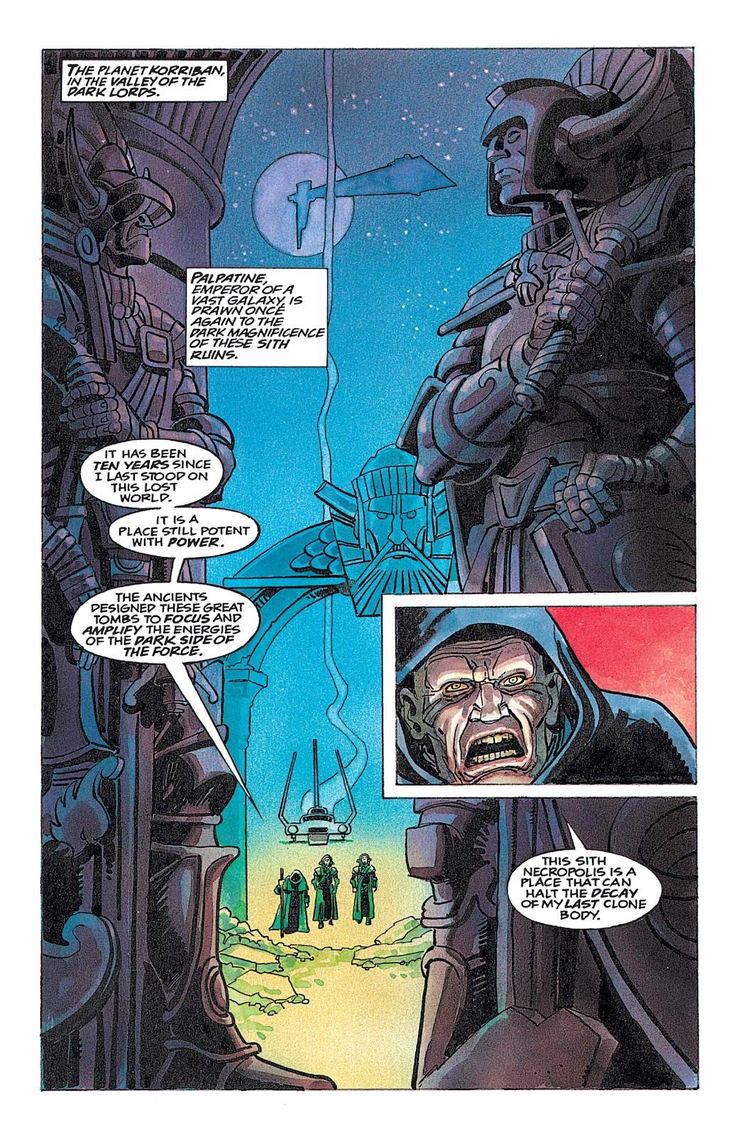 Read online Star Wars: Dark Empire Trilogy comic -  Issue # TPB (Part 4) - 34