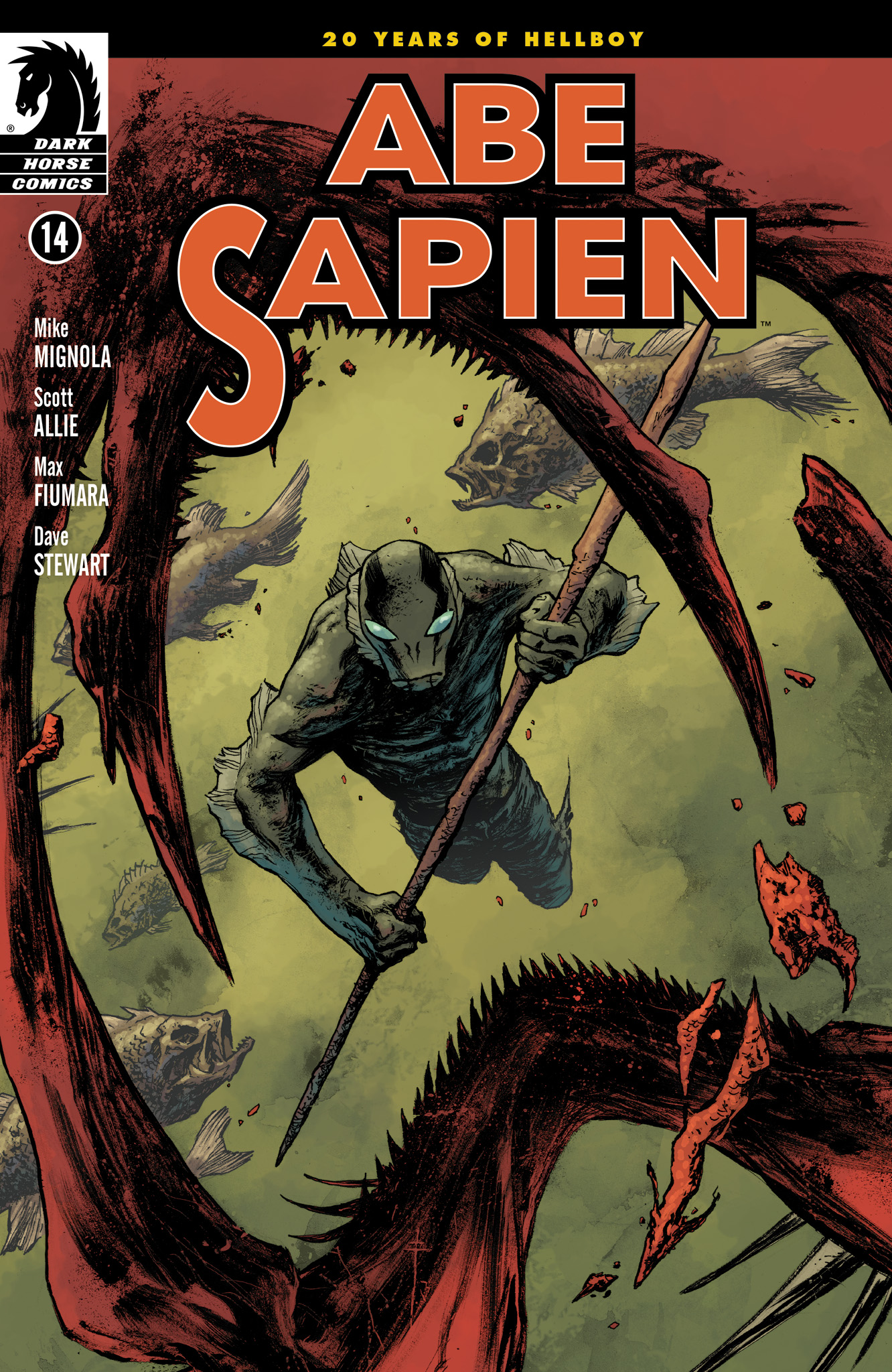 Read online Abe Sapien comic -  Issue #14 - 1