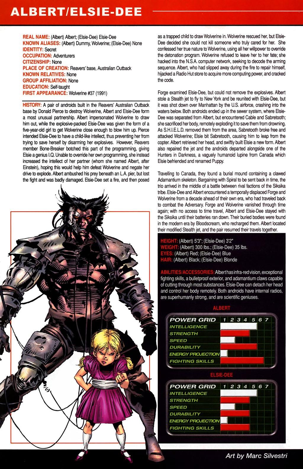 Read online All-New Official Handbook of the Marvel Universe A to Z comic -  Issue #1 - 16