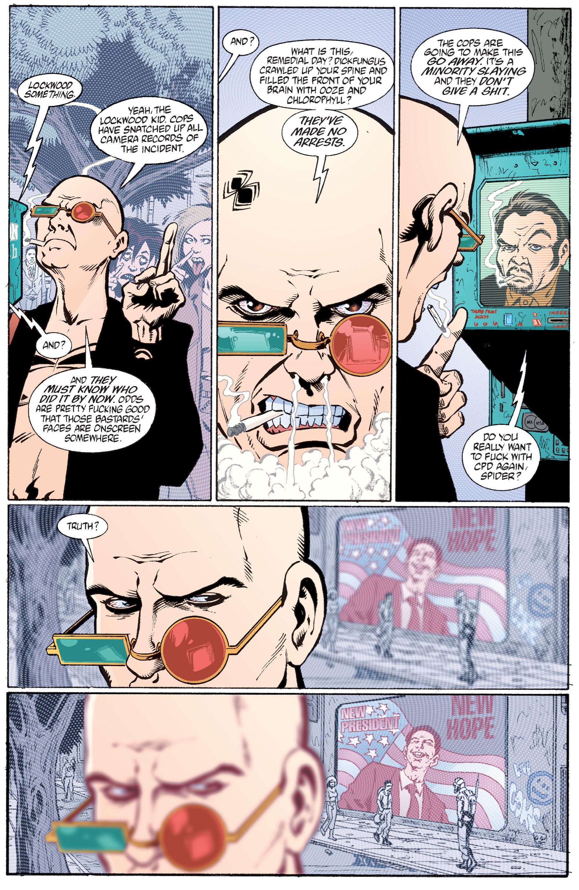 Read online Transmetropolitan comic -  Issue #28 - 22