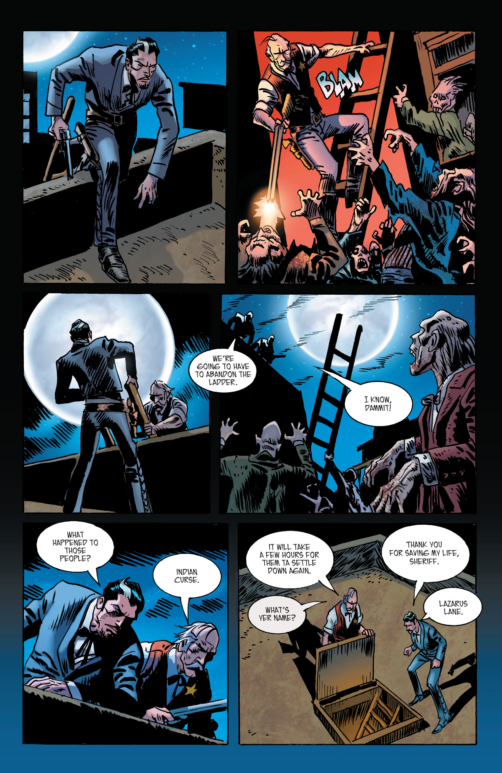 Read online All-Star Western (2011) comic -  Issue #2 - 24