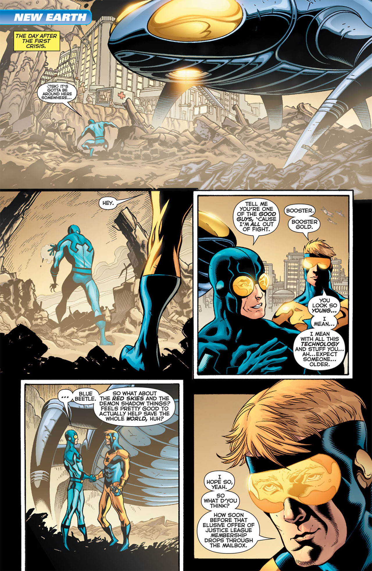 Read online 52 comic -  Issue #52 - 19