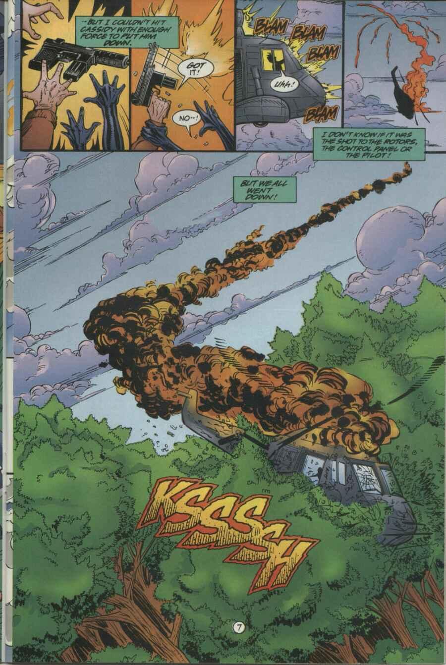 Read online Ultraverse Premiere comic -  Issue #4 - 21