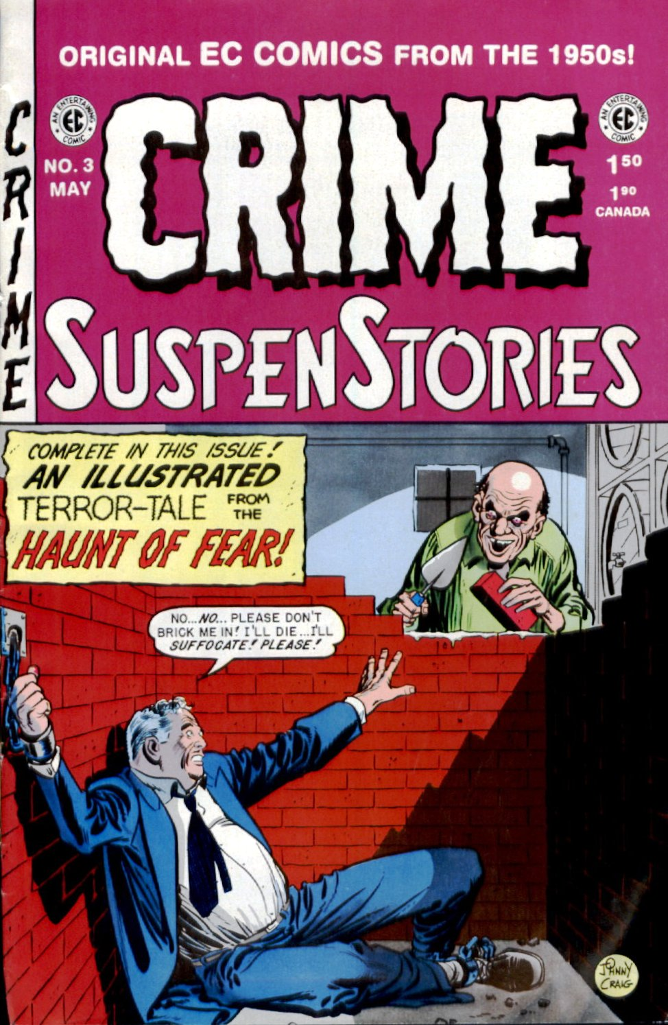 Crime SuspenStories 3 Page 1