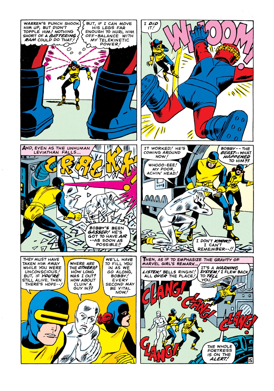Read online Uncanny X-Men (1963) comic -  Issue #15 - 16