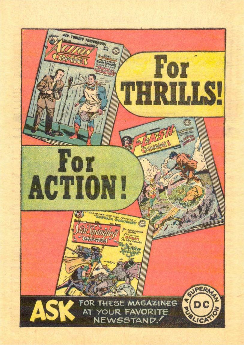 Read online Sensation (Mystery) Comics comic -  Issue #84 - 40