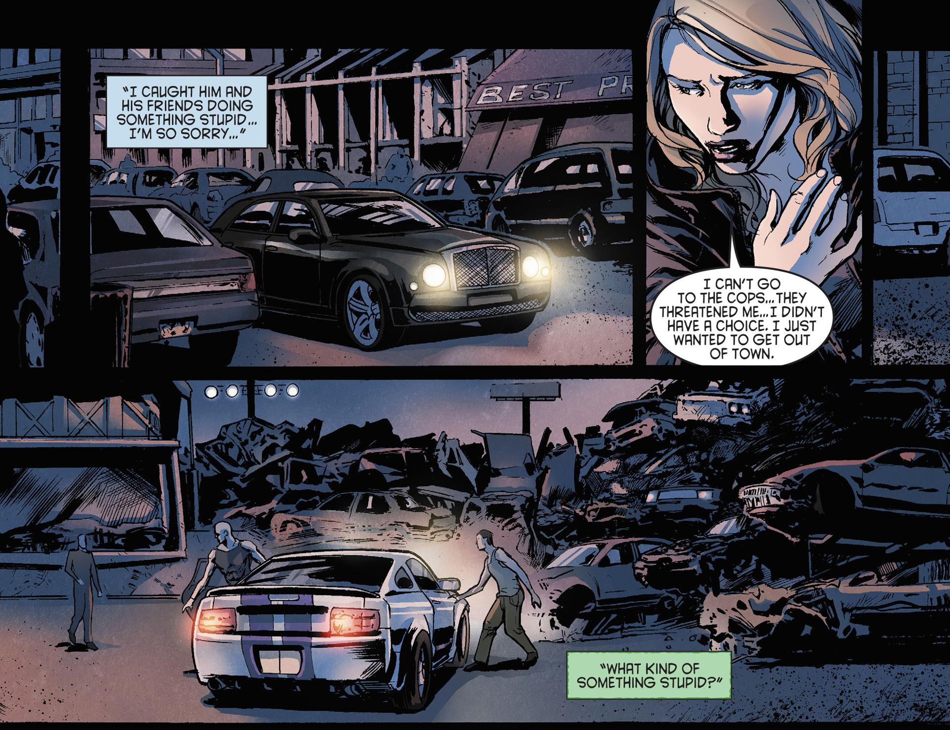 Read online Arrow [II] comic -  Issue #21 - 13