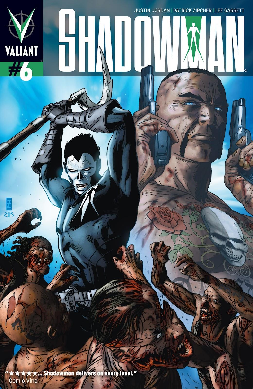 Shadowman (2012) 6 Page 1