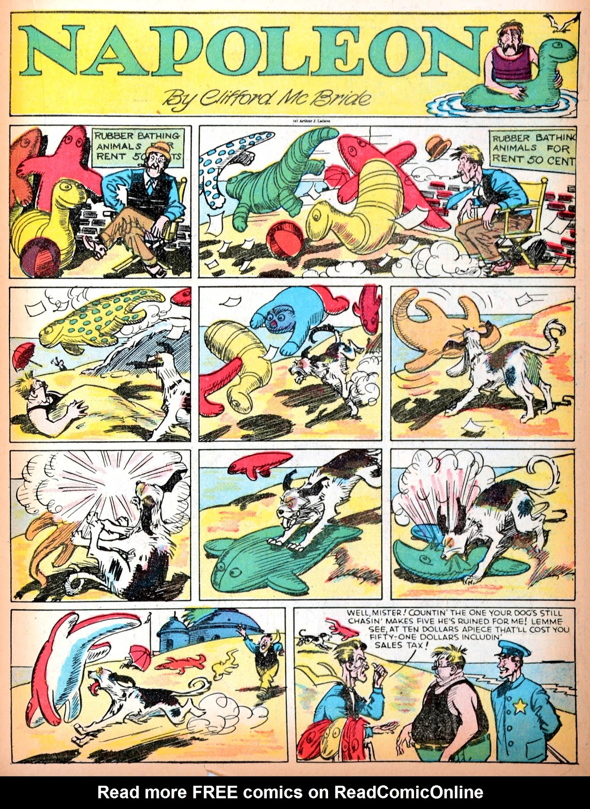 Read online Famous Funnies comic -  Issue #11 - 43