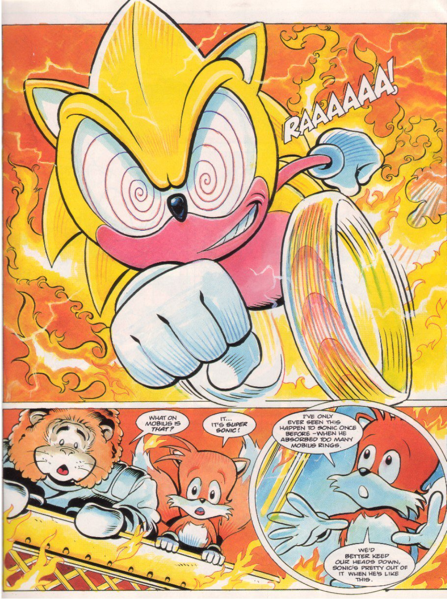 Read online Sonic the Comic comic -  Issue #7 - 7