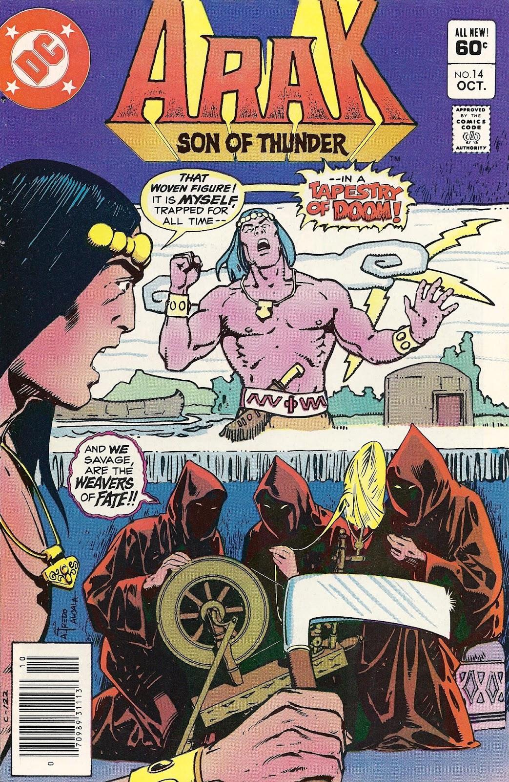 Arak Son of Thunder 14 Page 1