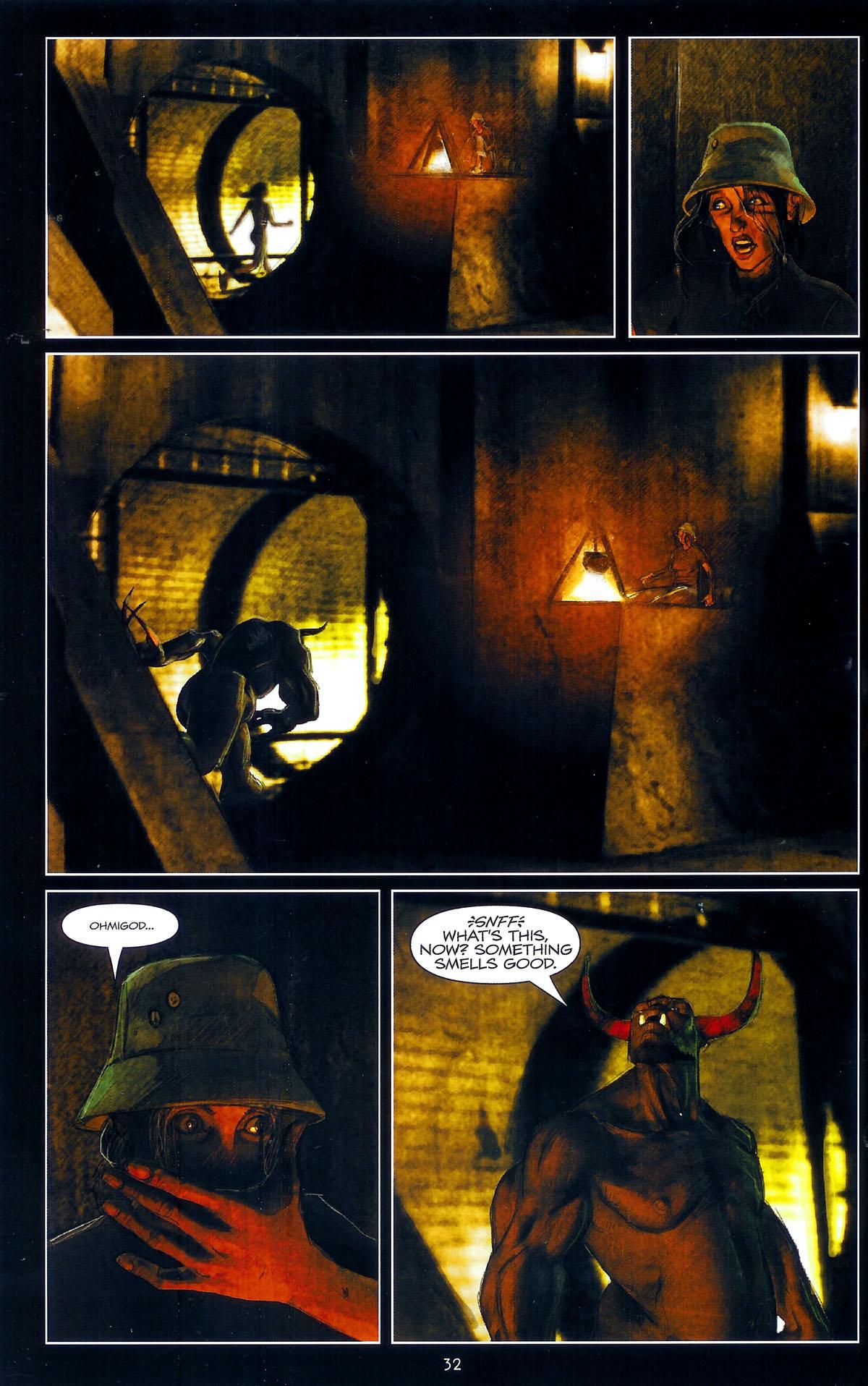 Read online Angel: Masks comic -  Issue # Full - 34