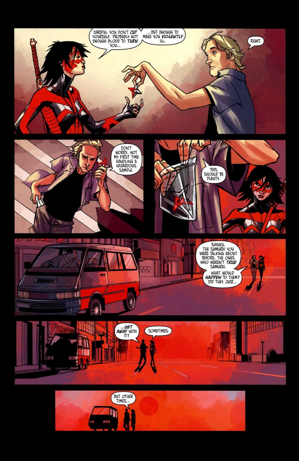 Read online Shinku comic -  Issue #2 - 22