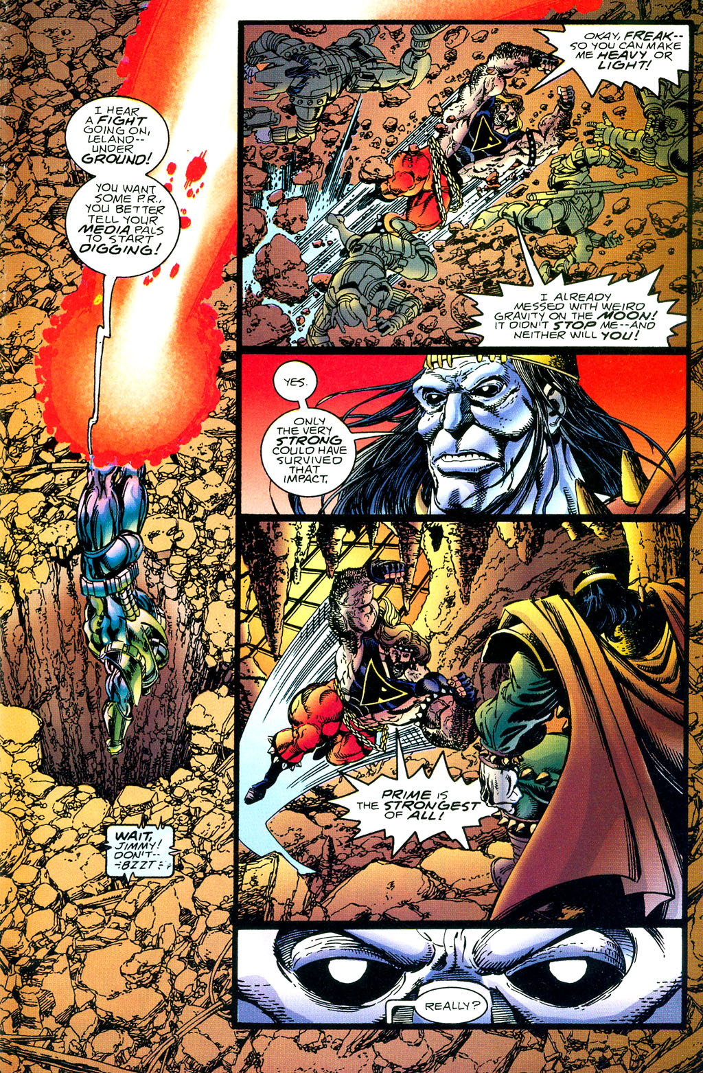 Read online UltraForce (1994) comic -  Issue #1 - 18