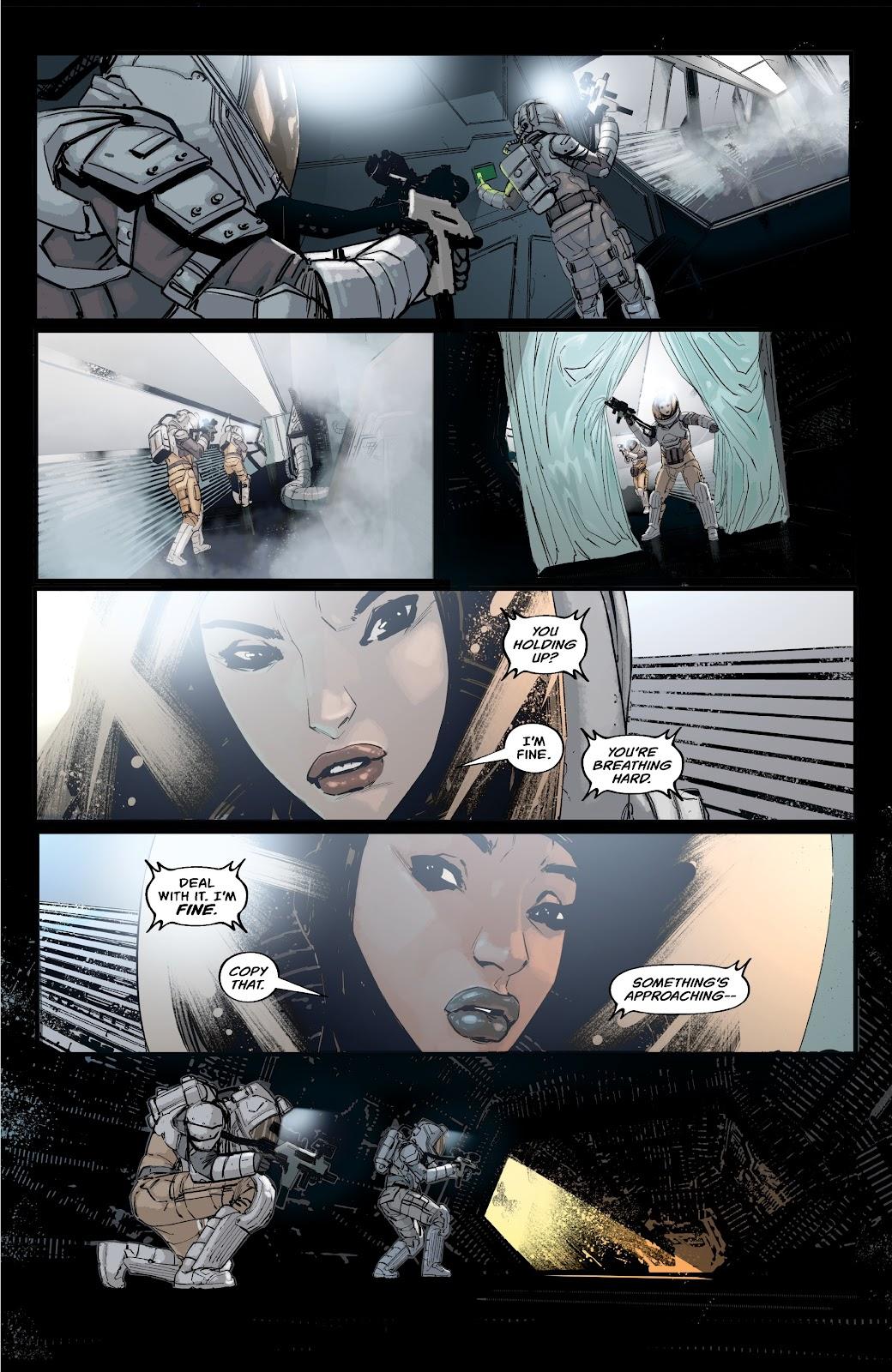 Read online Aliens: Resistance comic -  Issue #2 - 9