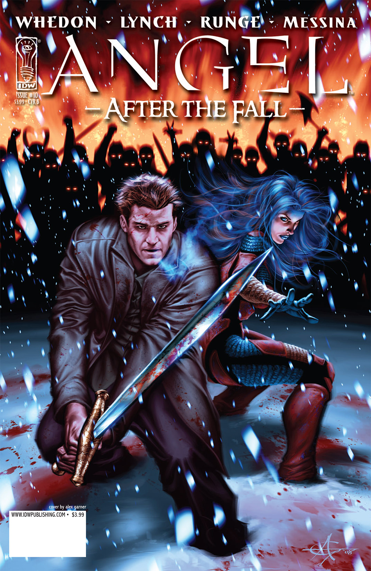 Read online Angel: After The Fall comic -  Issue #10 - 2