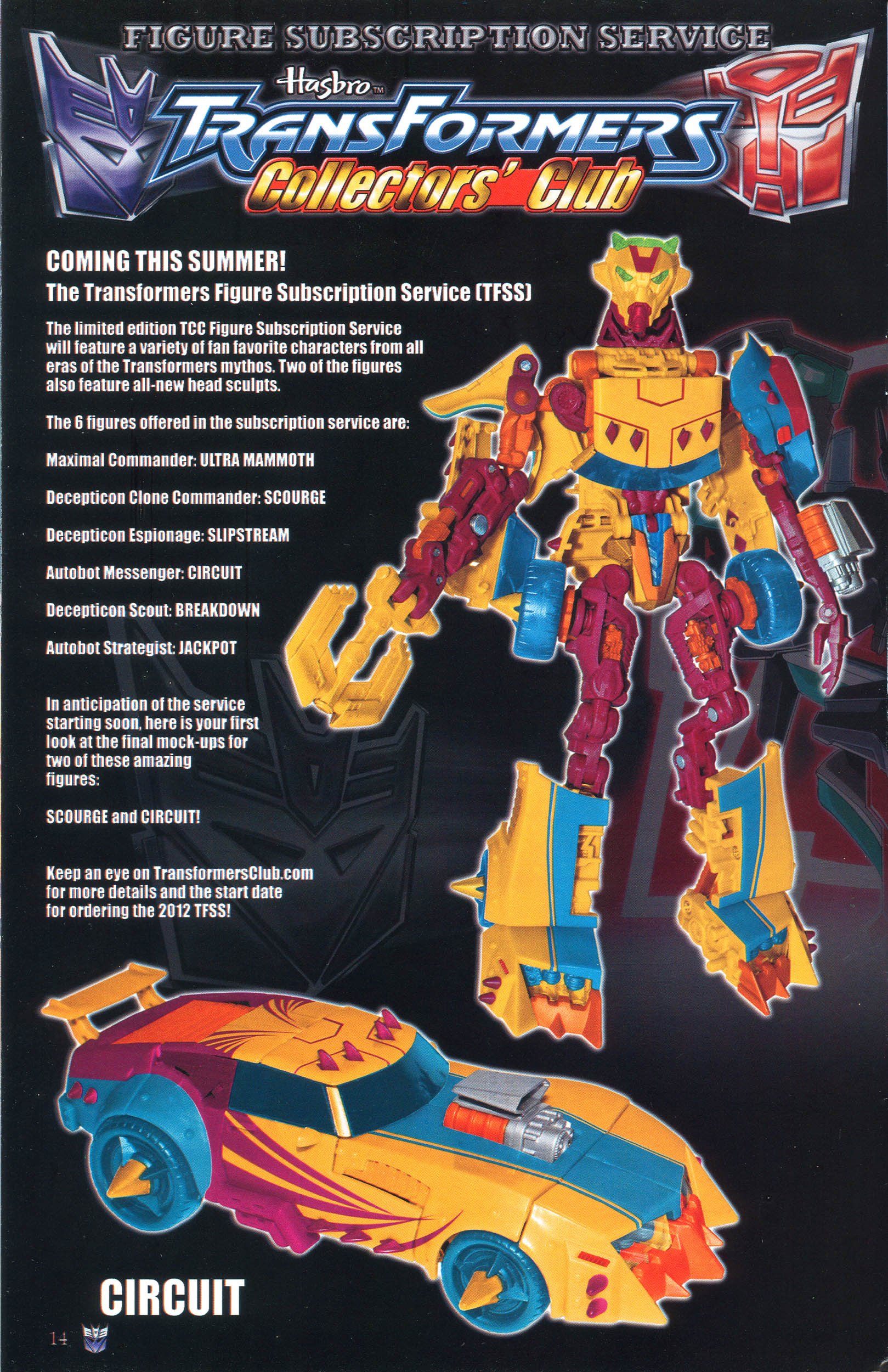 Read online Transformers: Collectors' Club comic -  Issue #46 - 14