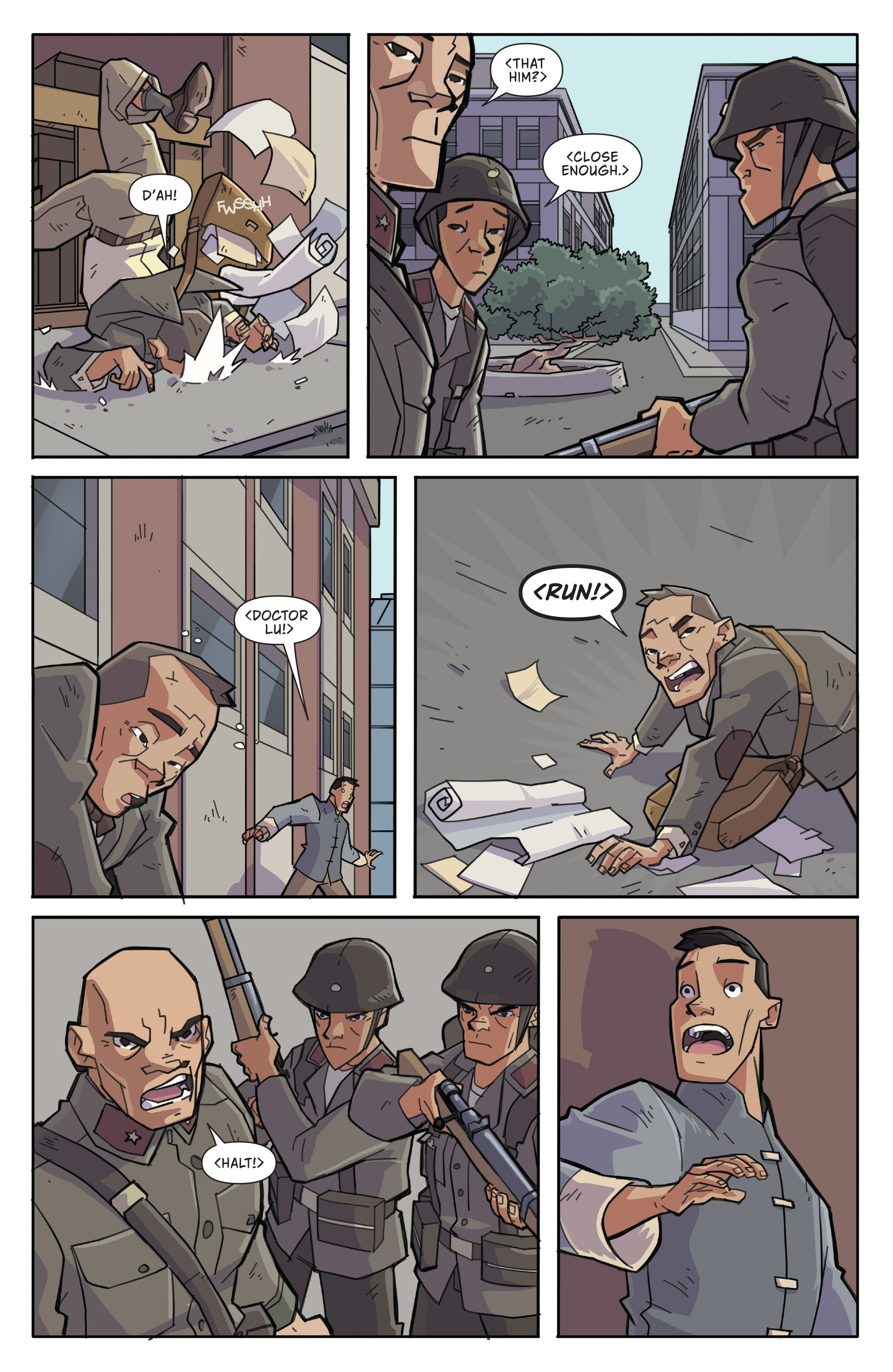 Read online Atomic Robo and the Temple of Od comic -  Issue #3 - 5