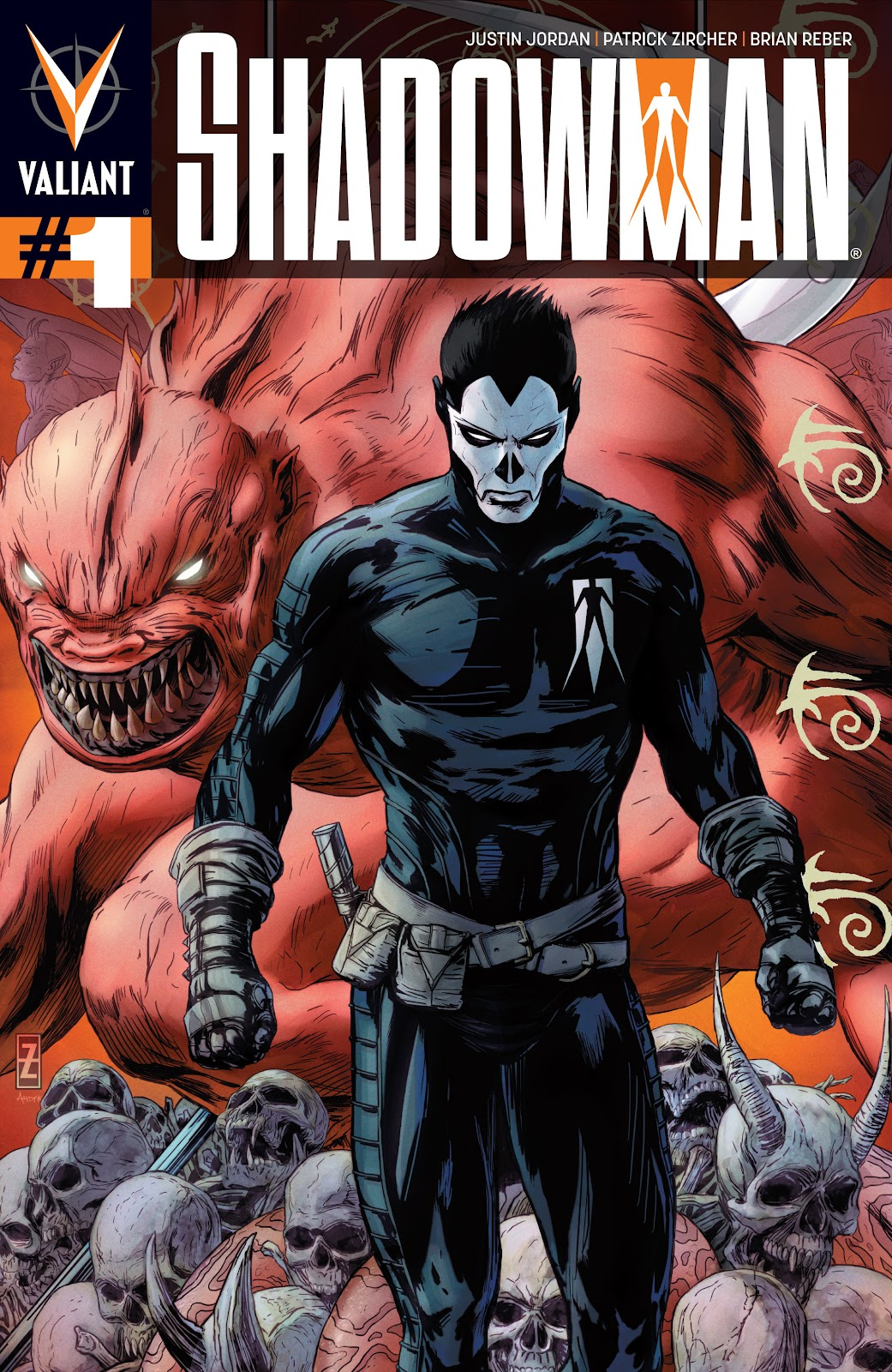 Shadowman (2012) 1 Page 1