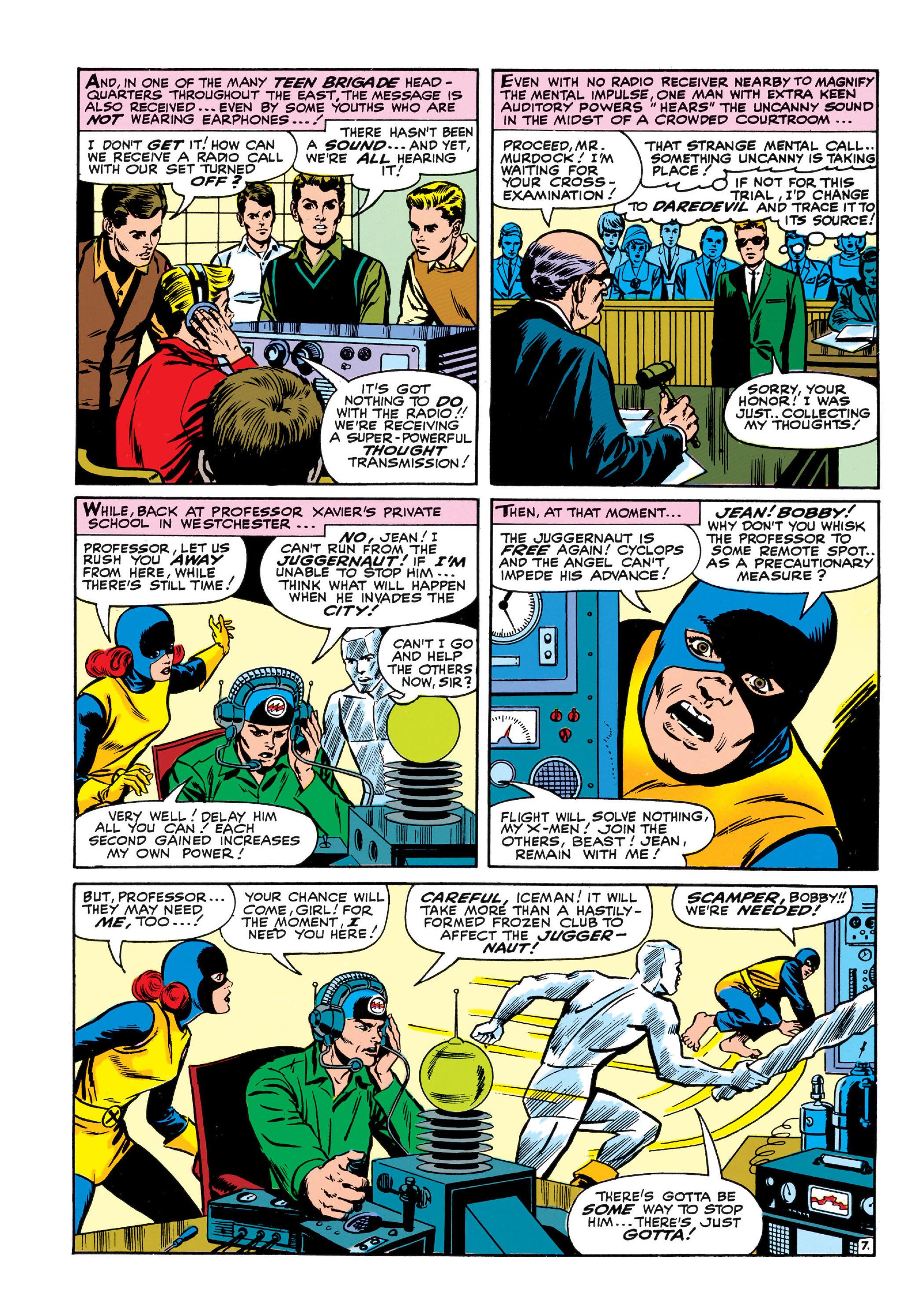 Read online Uncanny X-Men (1963) comic -  Issue #13 - 8