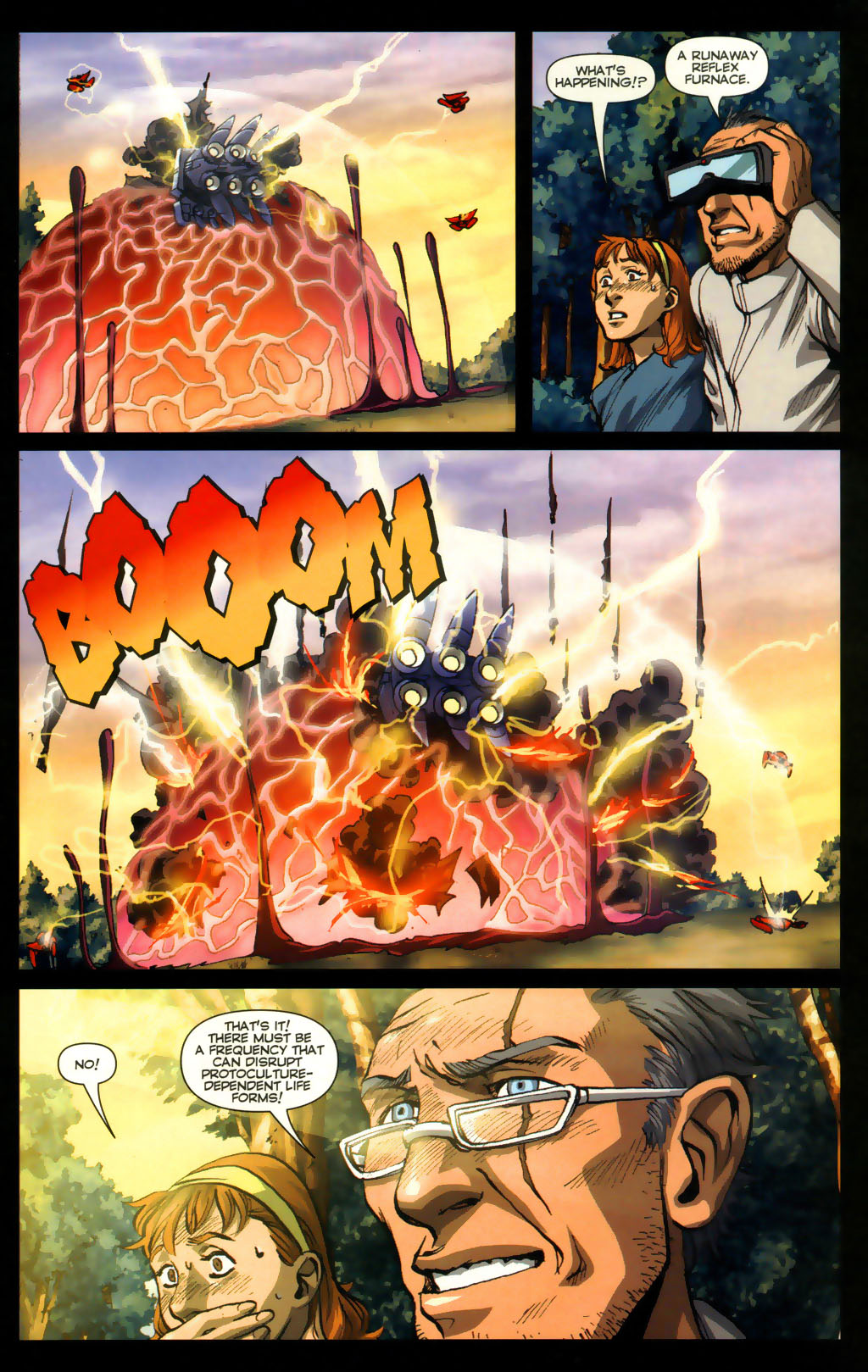 Read online Robotech: Invasion comic -  Issue #5 - 7