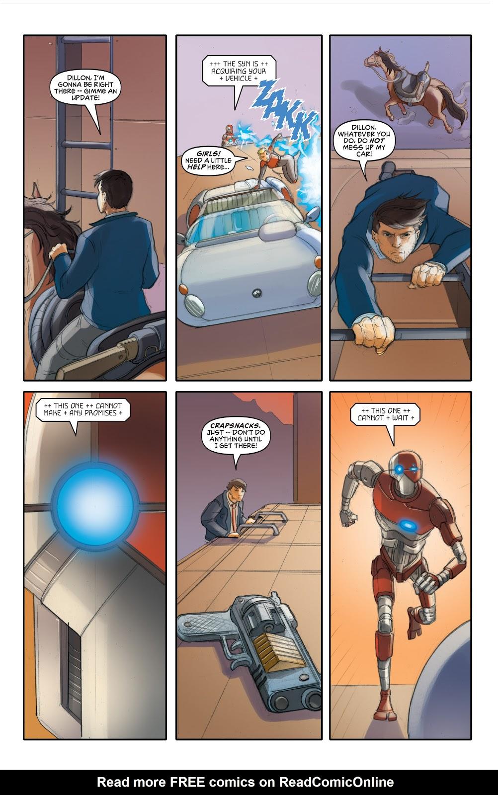 Read online Elephantmen 2261 Season Two: The Pentalion Job comic -  Issue # TPB - 66