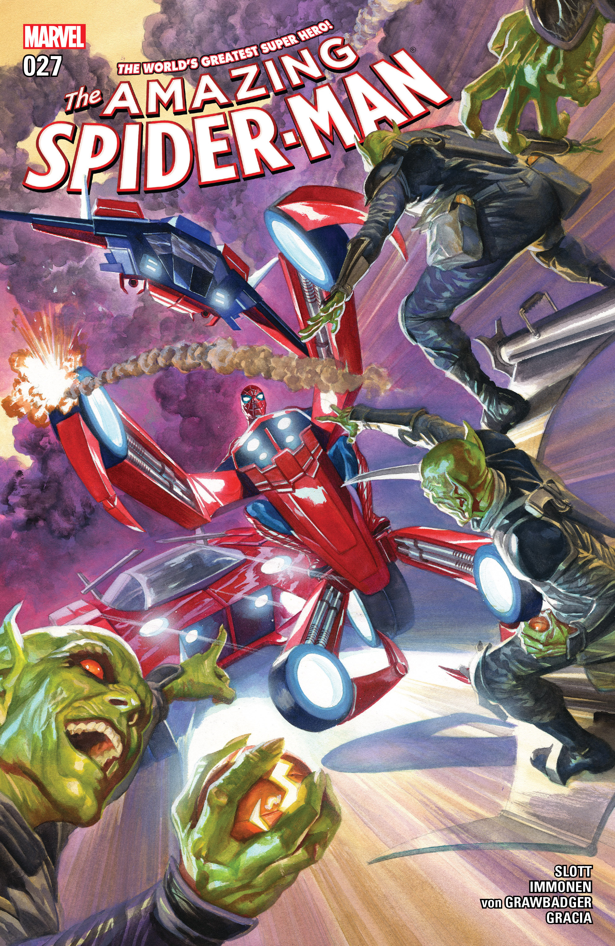Read online The Amazing Spider-Man (2015) comic -  Issue #27 - 1