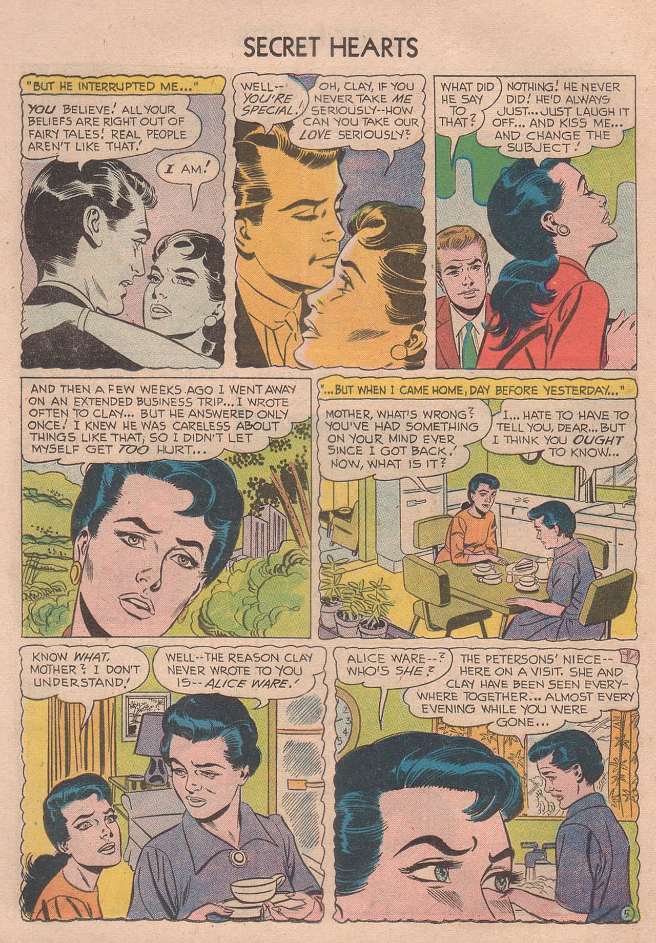 Read online Secret Hearts comic -  Issue #39 - 24