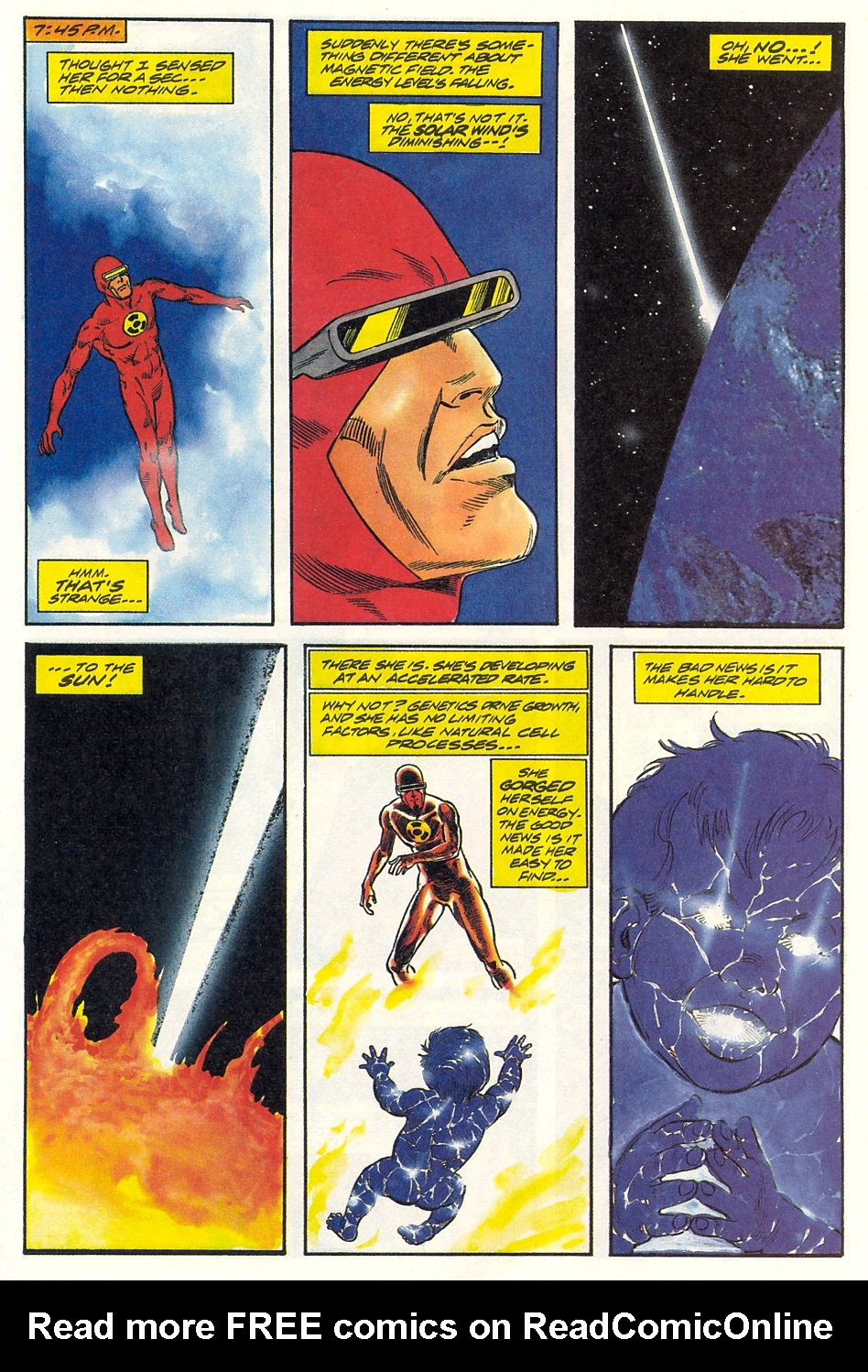 Read online Solar, Man of the Atom comic -  Issue #9 - 30