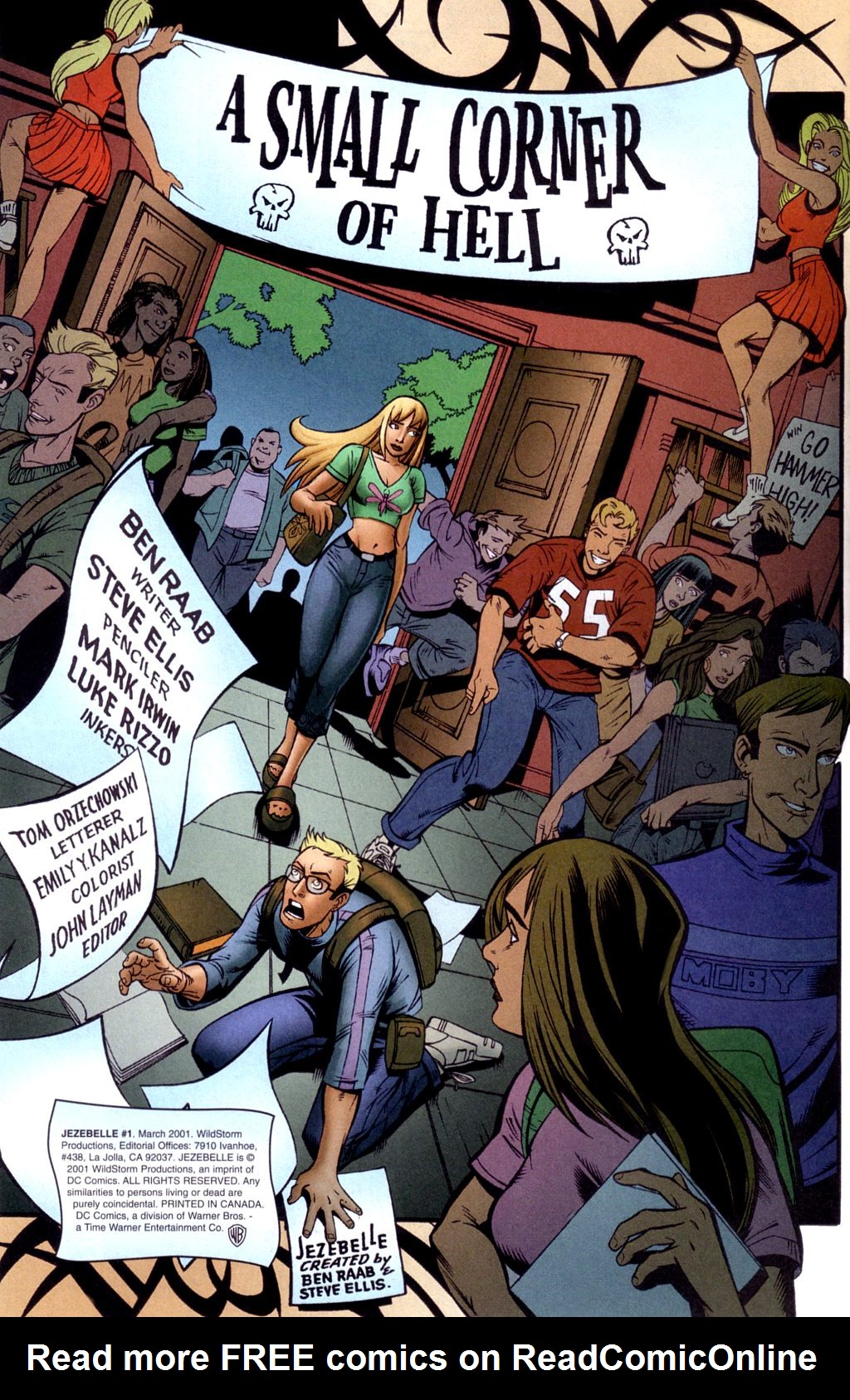 Read online Jezebelle comic -  Issue #1 - 3