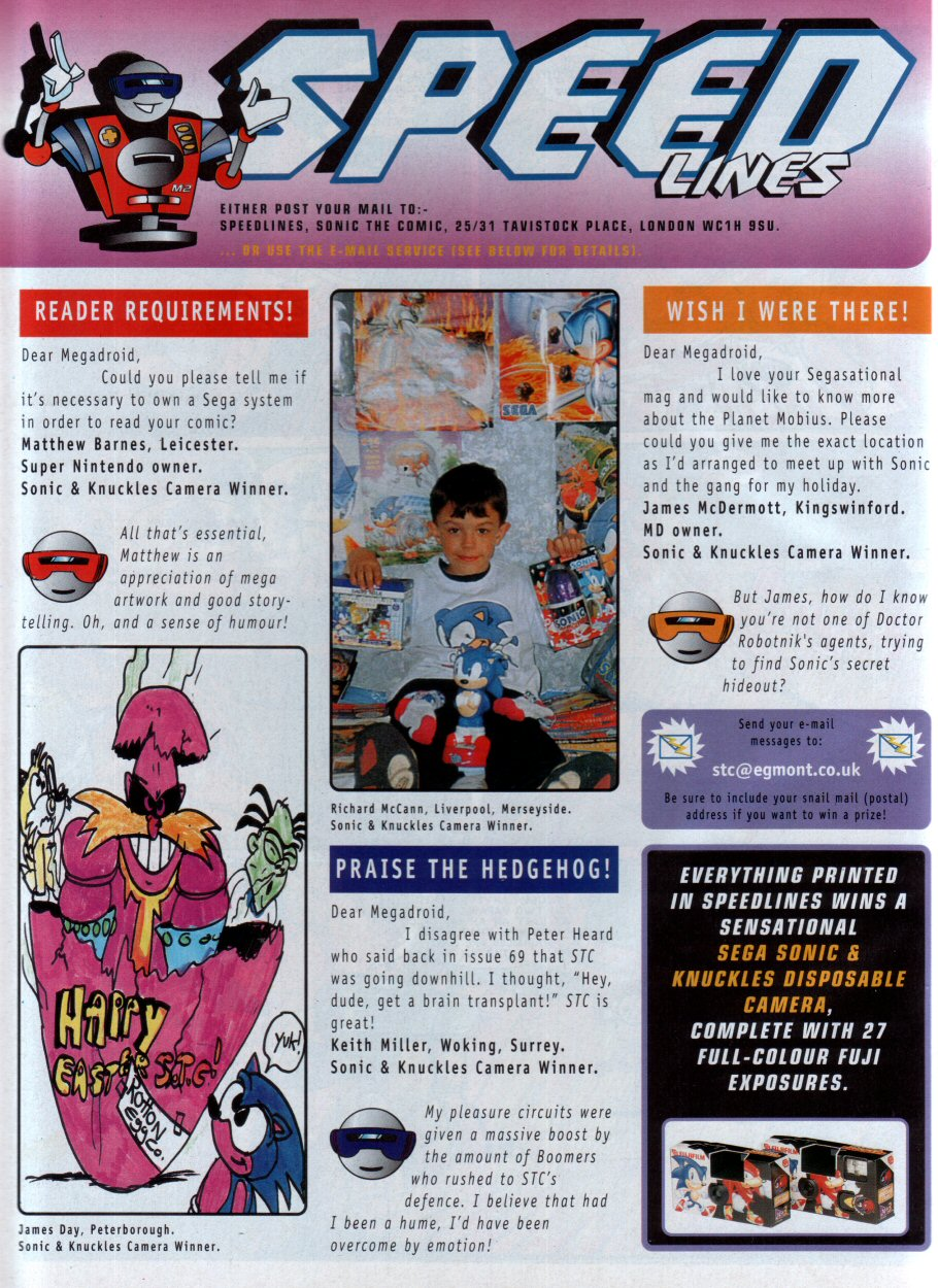 Read online Sonic the Comic comic -  Issue #75 - 29