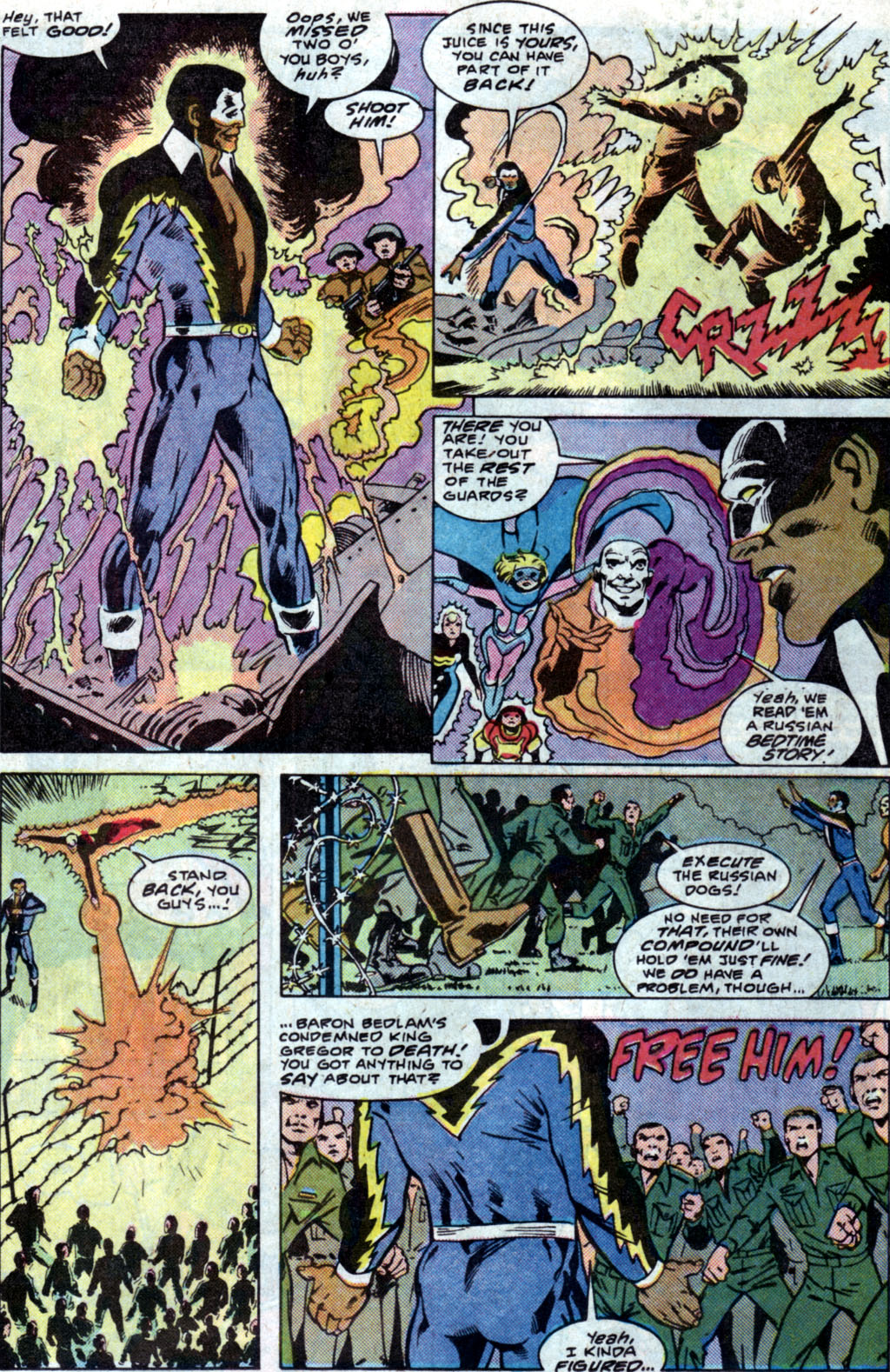 Read online Adventures of the Outsiders comic -  Issue #35 - 15