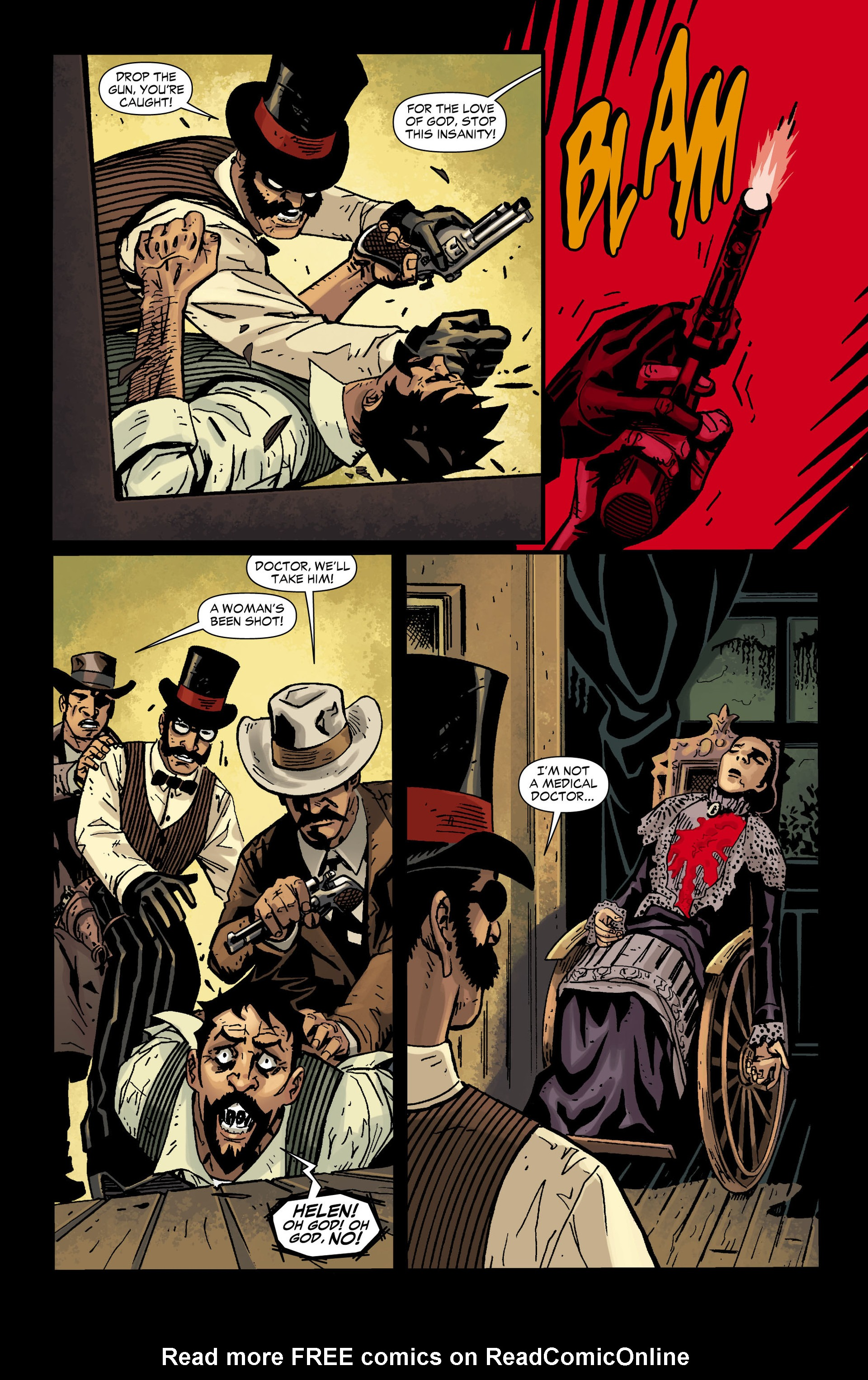 Read online All-Star Western (2011) comic -  Issue #12 - 26