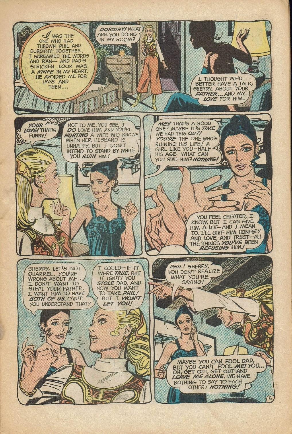Read online Secret Hearts comic -  Issue #152 - 7