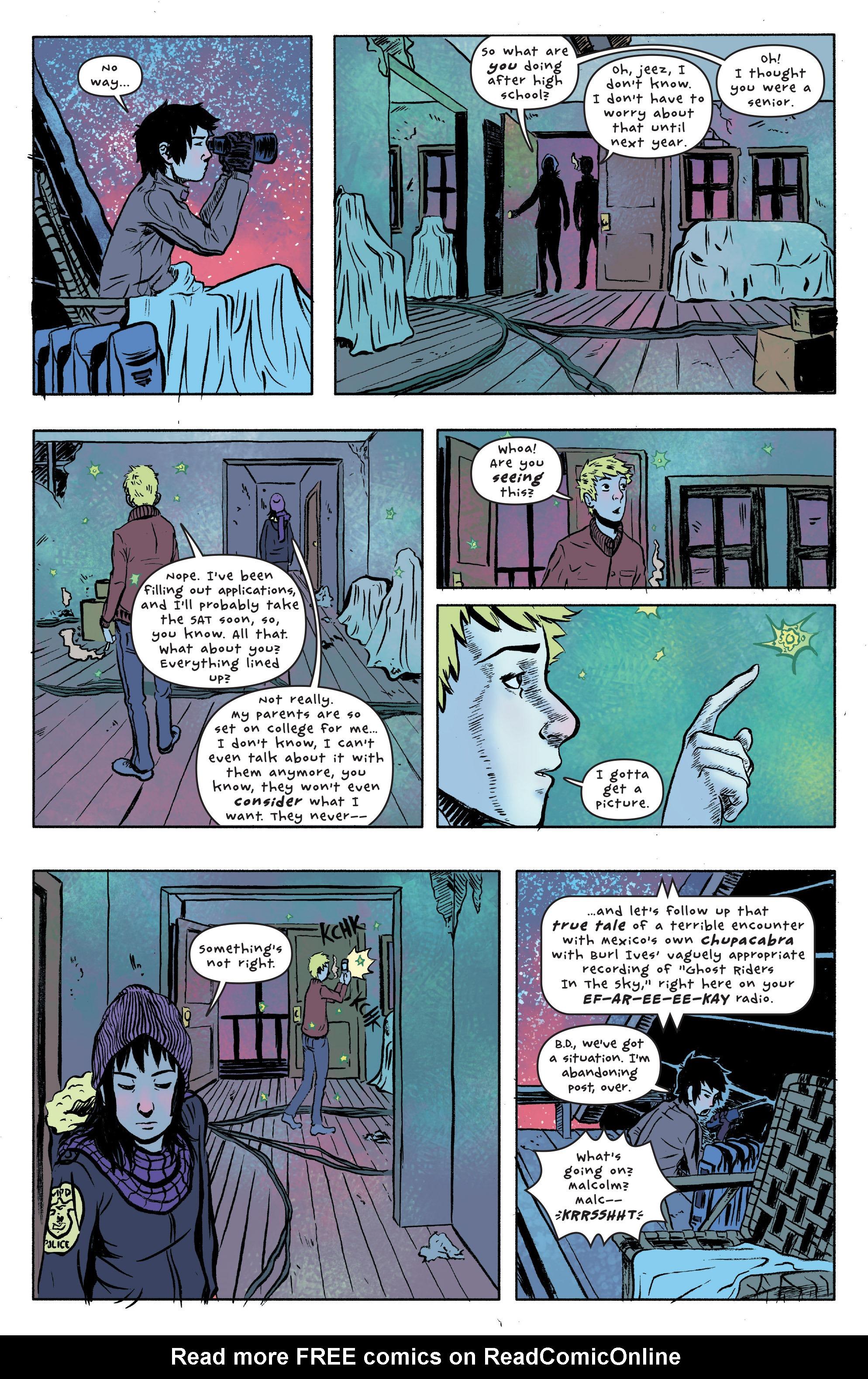 Read online UFOlogy comic -  Issue #1 - 15