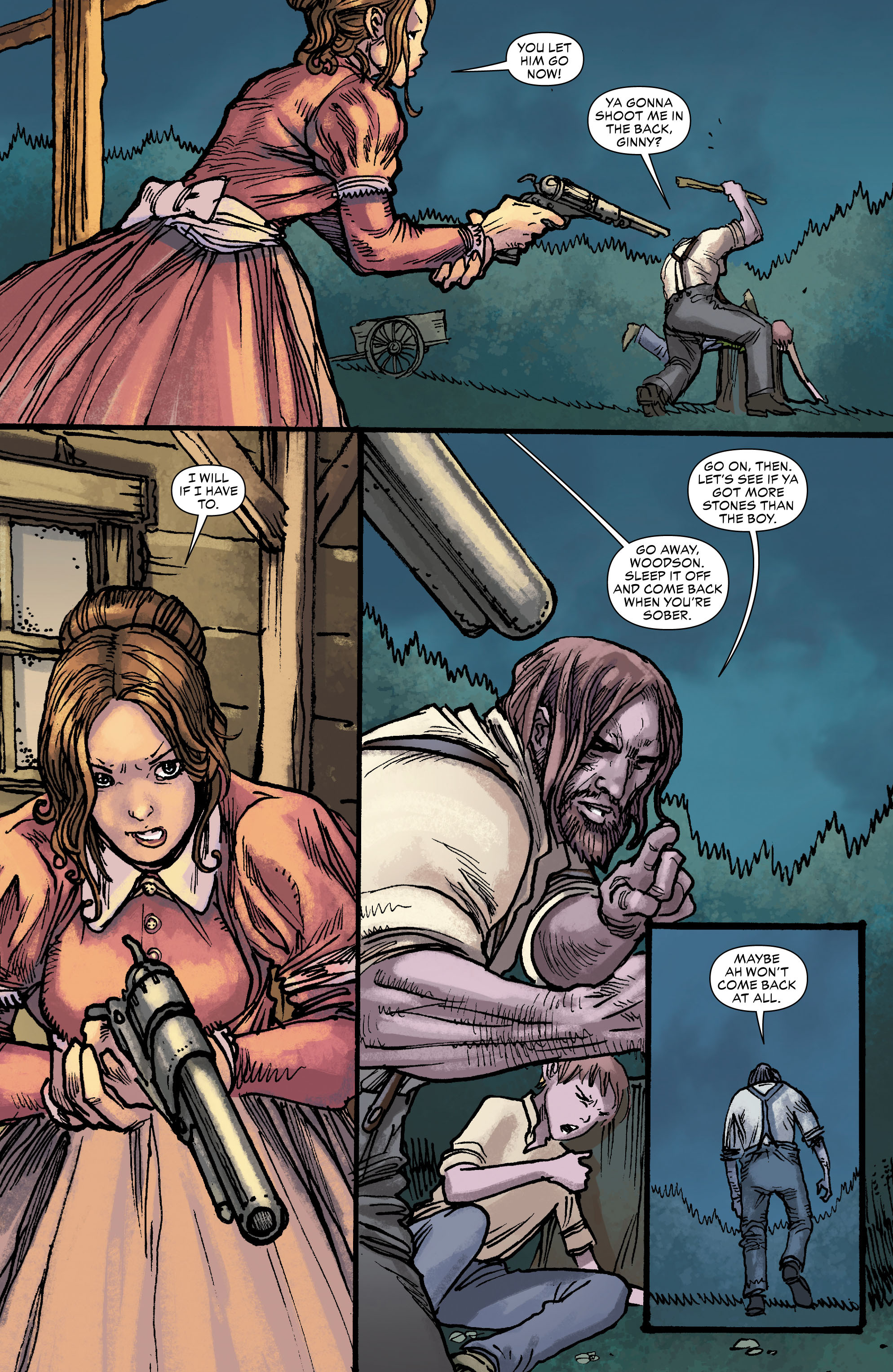 Read online All-Star Western (2011) comic -  Issue #0 - 10