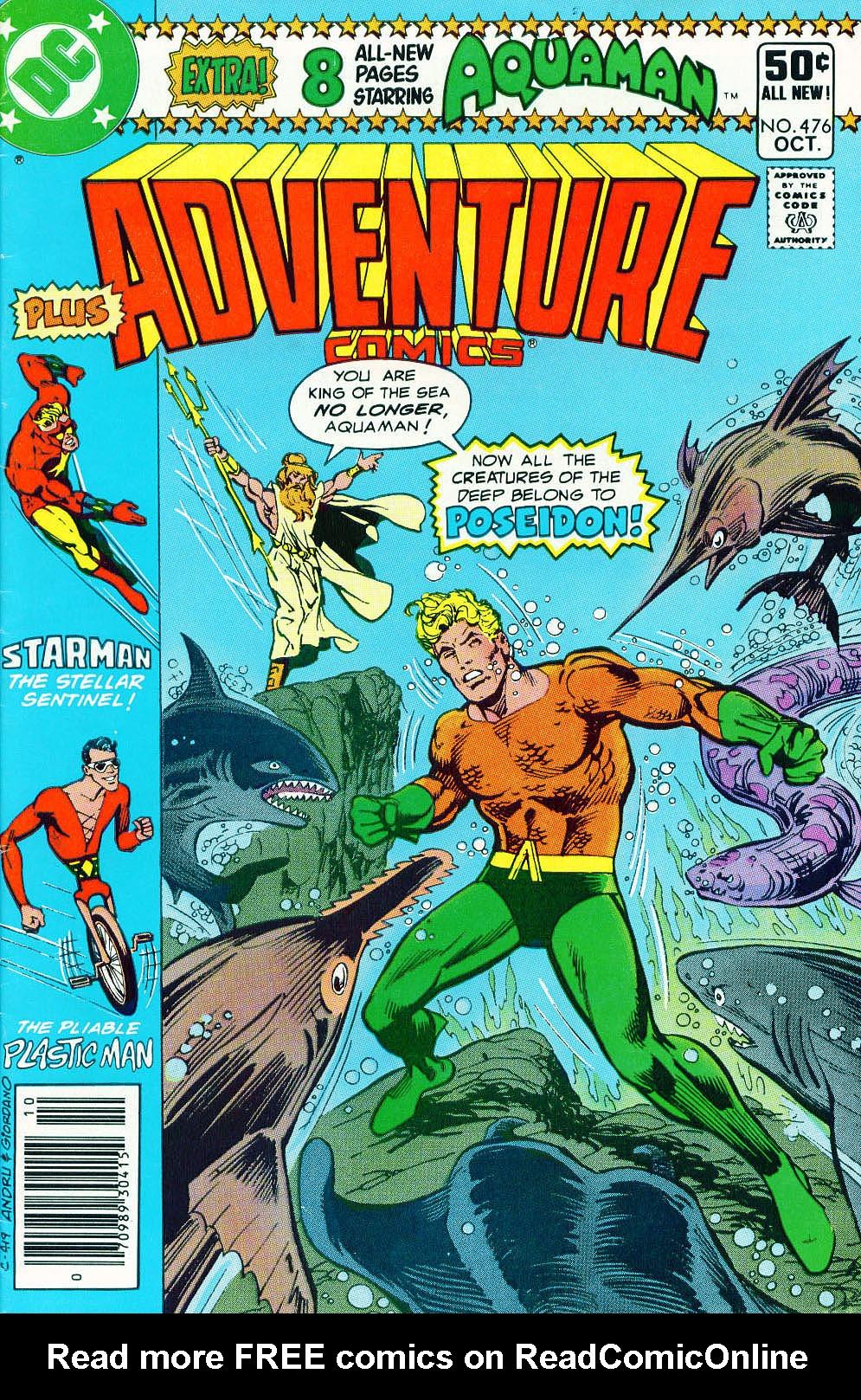 Read online Adventure Comics (1938) comic -  Issue #476 - 1