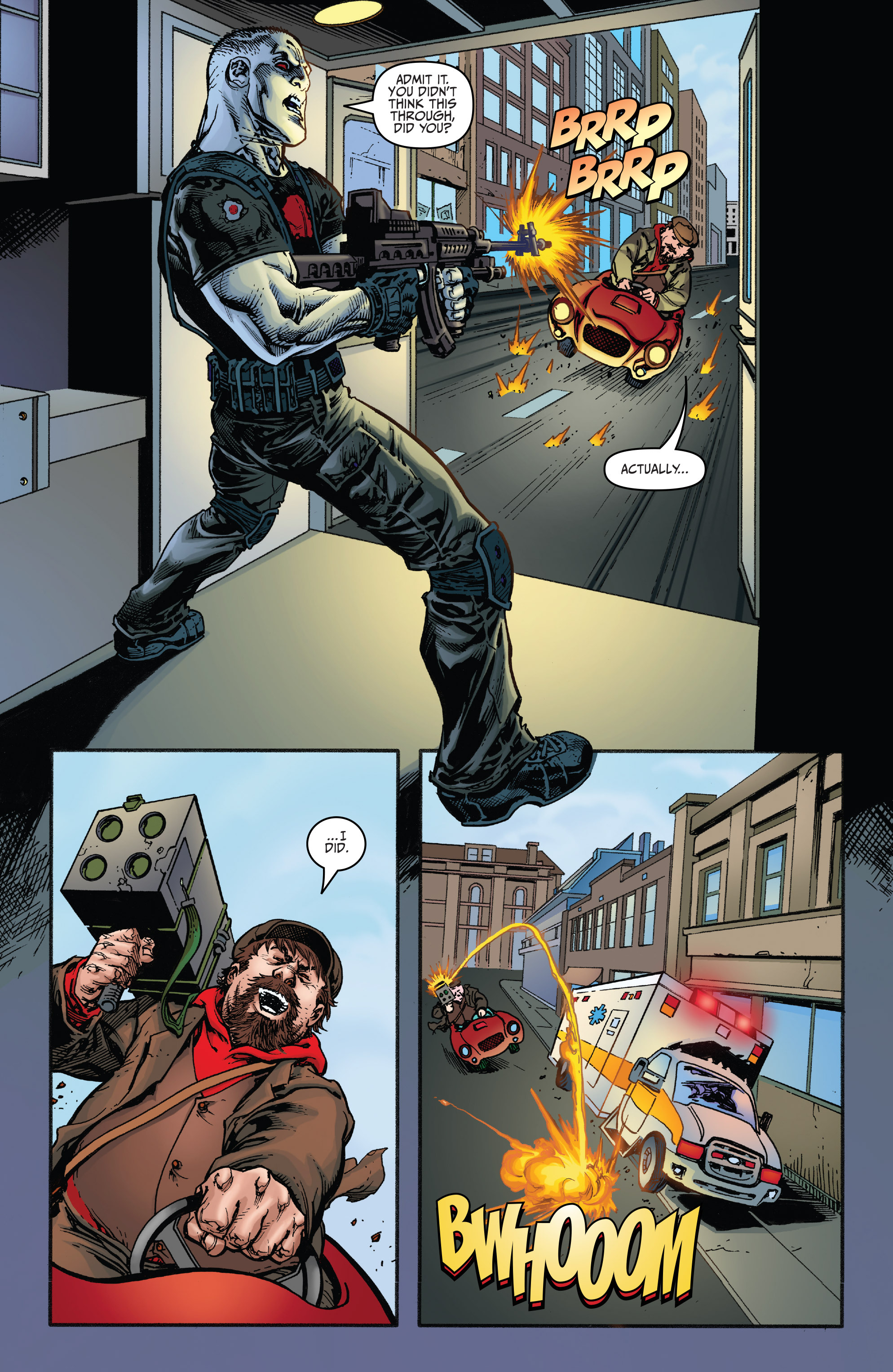 Read online Bloodshot and H.A.R.D.Corps comic -  Issue #20 - 14